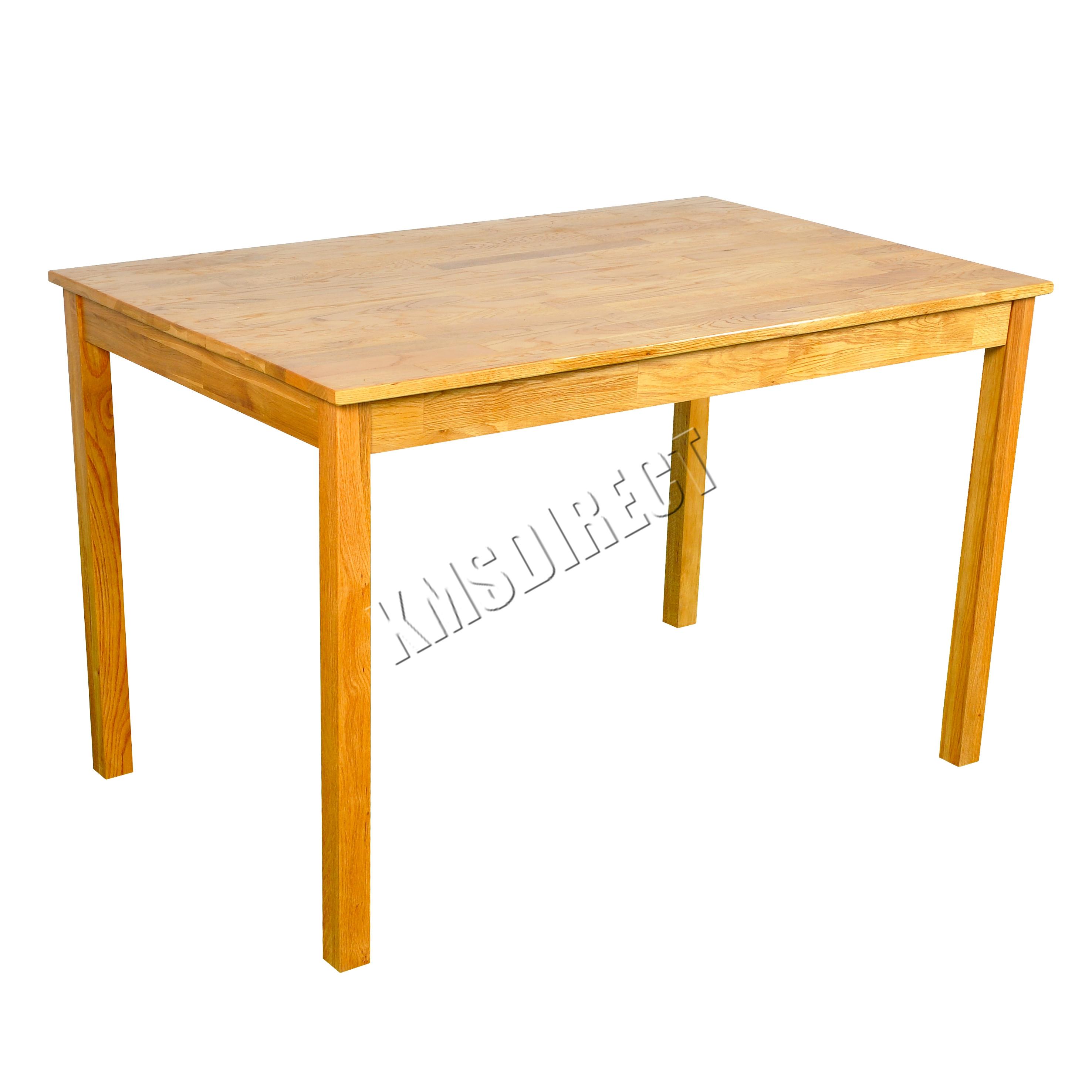 RIPARO in legno massello rustico naturale TAVOLO DA PRANZO IN ROVERE MOBILI DA CUCINA CASA  eBay