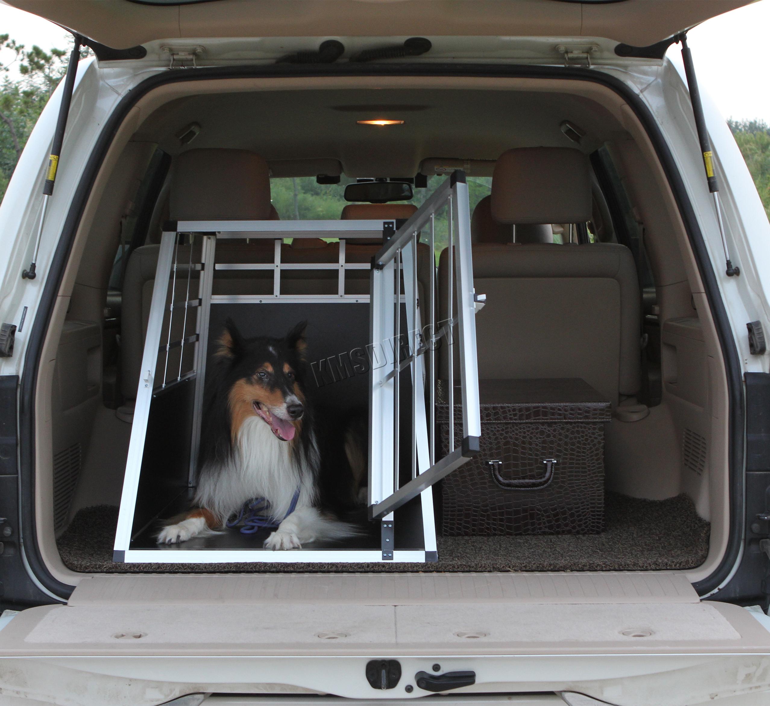 foxhunter grande cage transport chien animaux de compagnie. Black Bedroom Furniture Sets. Home Design Ideas