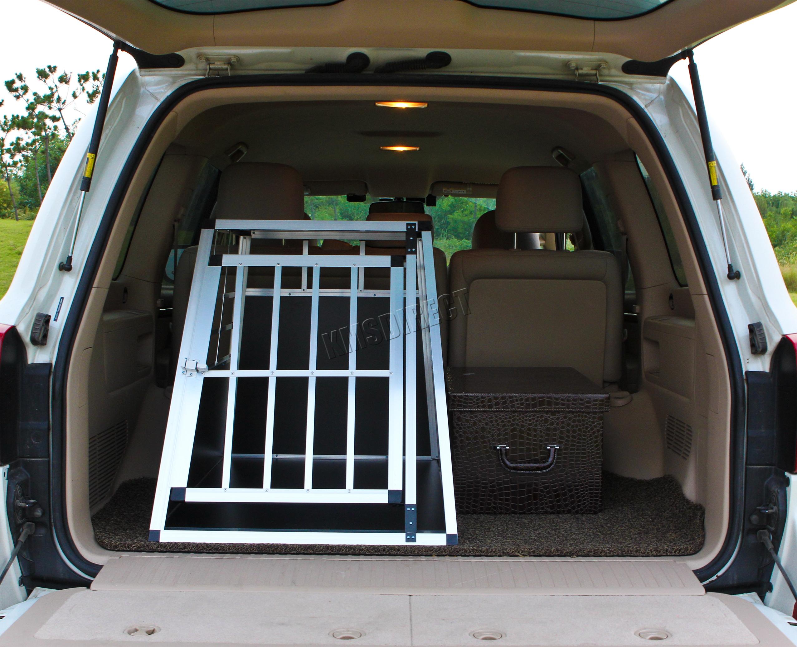 foxhunter aluminium chien cage pour animaux de compagnie. Black Bedroom Furniture Sets. Home Design Ideas