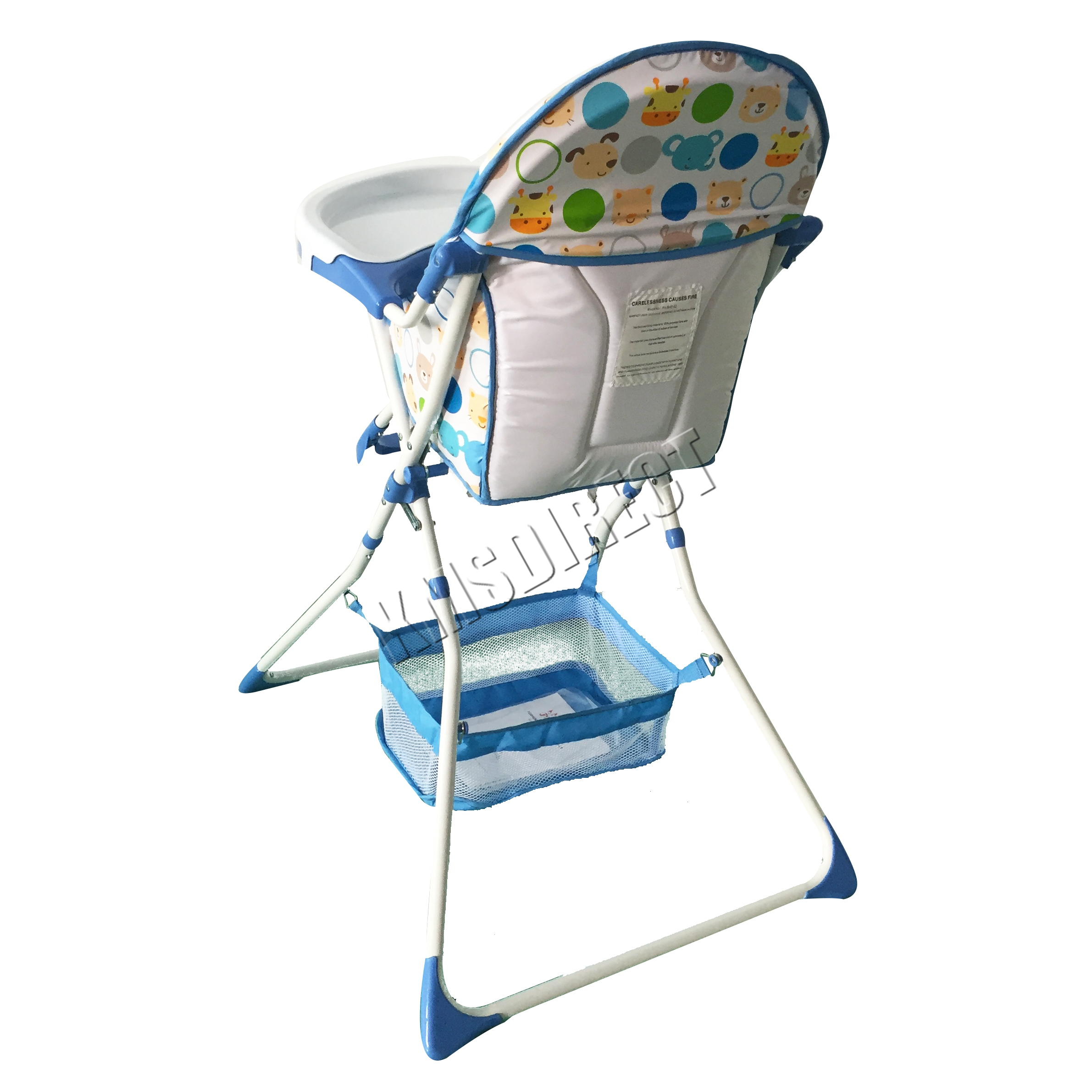 foxhunter portable baby high chair infant child folding feeding seat bib bhc02 ebay. Black Bedroom Furniture Sets. Home Design Ideas