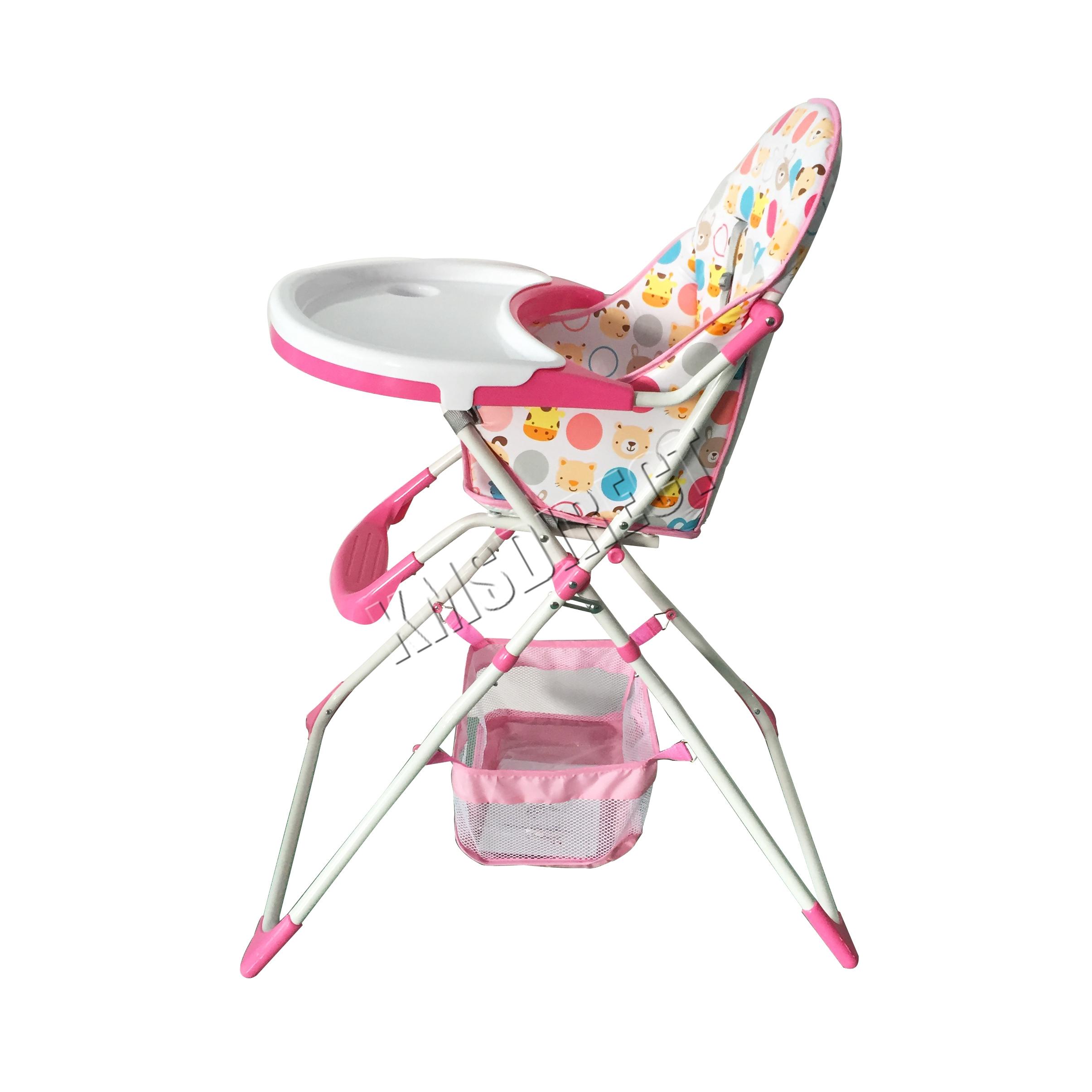 FoxHunter Portable Baby High Chair Infant Child Folding Feeding