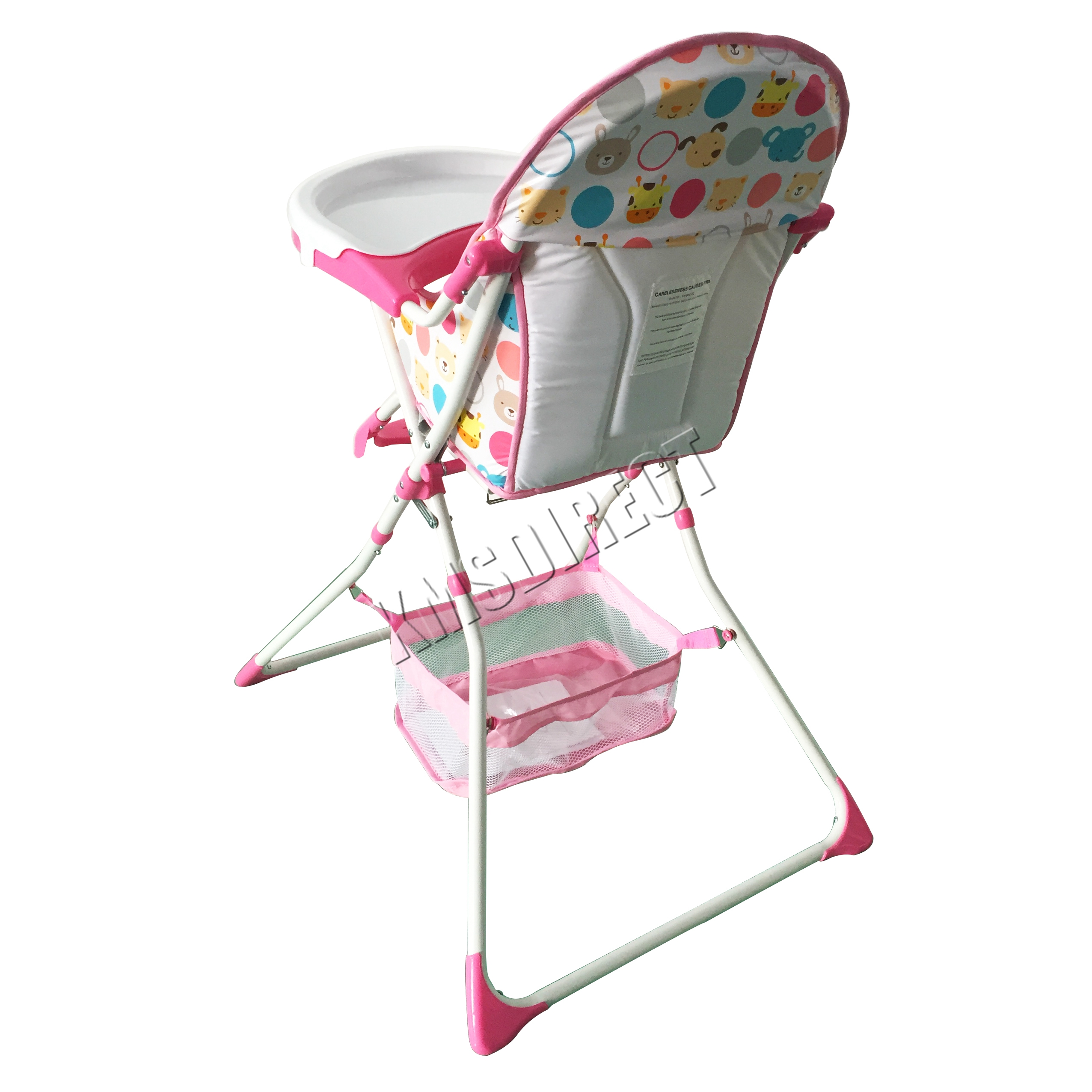 FoxHunter Portable Baby High Chair Infant Child Folding Feeding