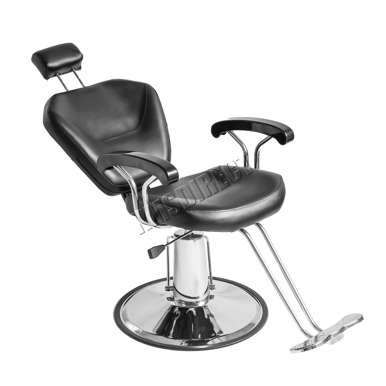 foxhunter salon barbier hydraulique chaise inclinable coiffure beaut tatouage ebay. Black Bedroom Furniture Sets. Home Design Ideas