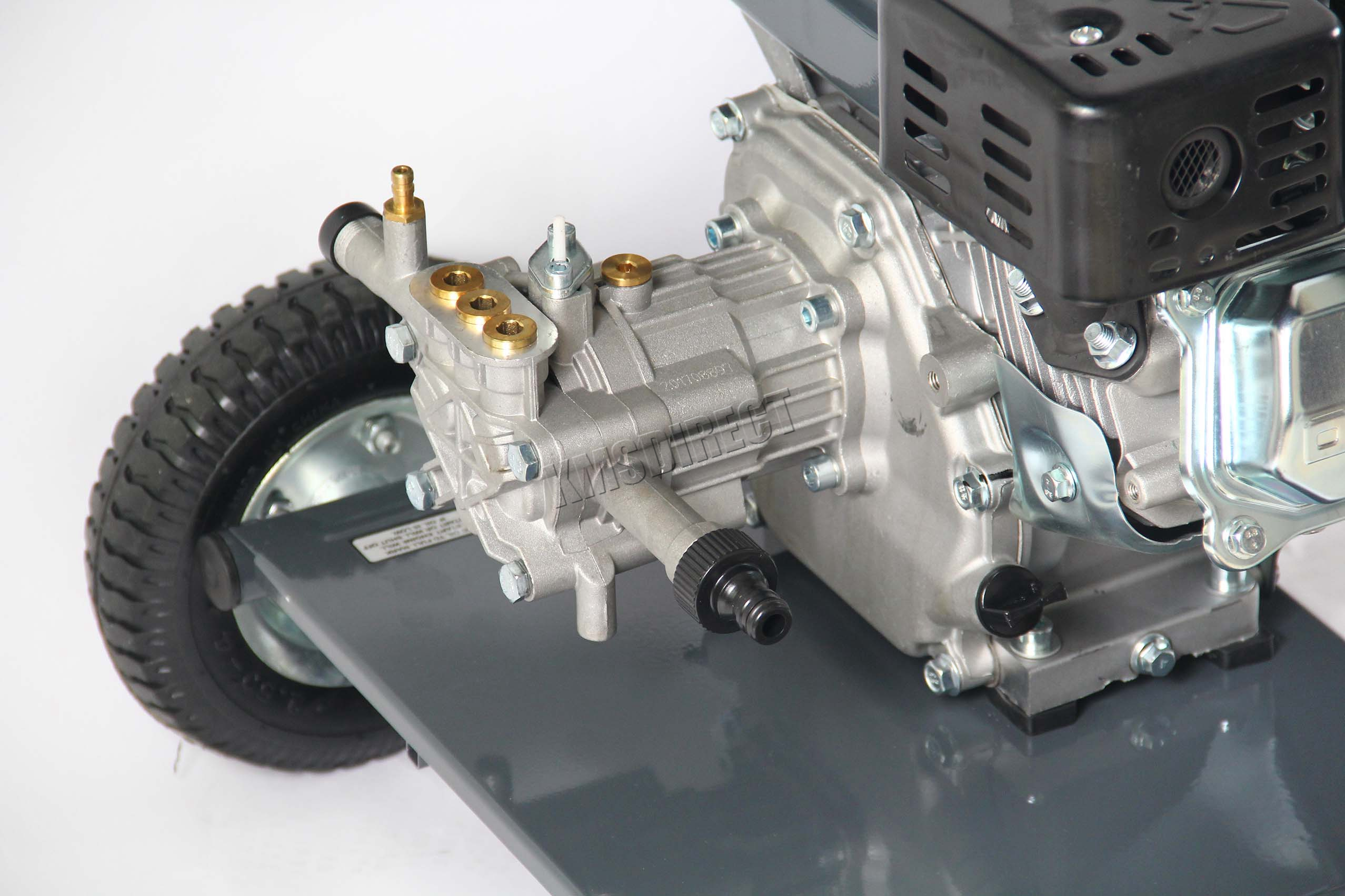 Pressure Washer Gun >> SwitZer Petrol Power Pressure Jet Washer 3000PSI 6.5HP Engine With Gun Hose 5055418302043 | eBay