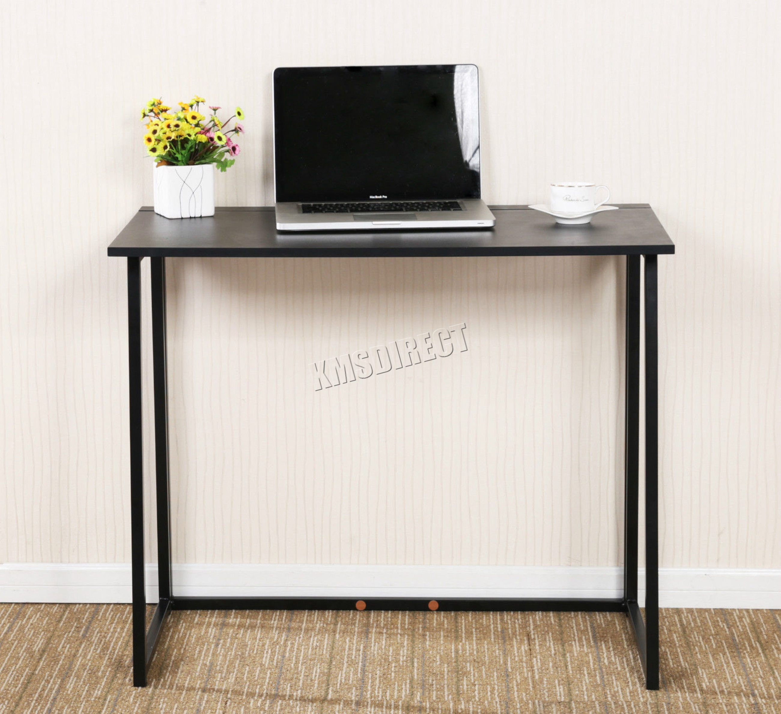Sentinel Foxhunter Foldable Computer Desk Folding Laptop Pc Table Home Office Study Cd03