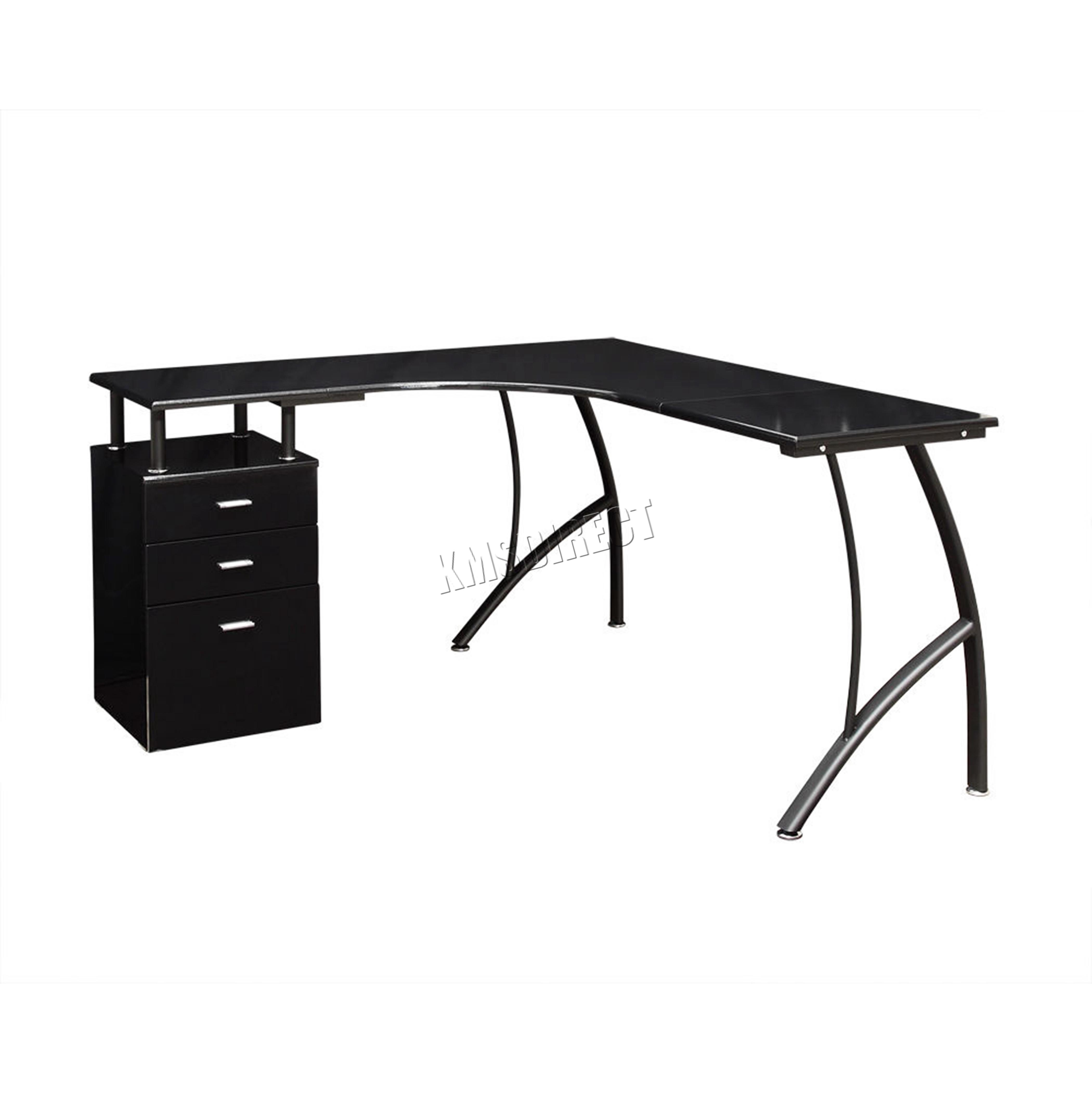 Foxhunter forma l esquina computador escritorio pc mesa - Mesa escritorio esquina ...