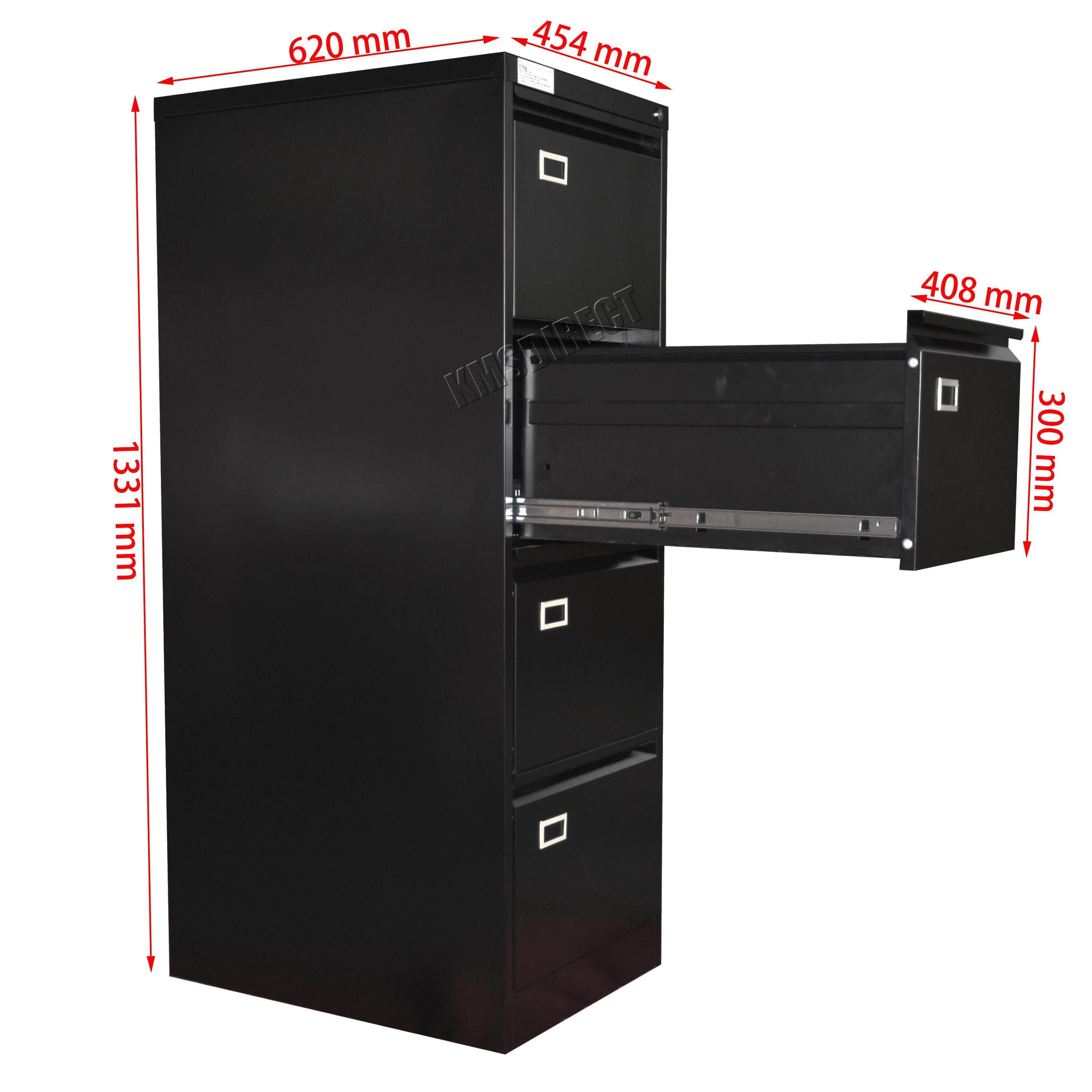 Riparo in acciaio a4 schedario con 2 3 4 cassetti mobili for Mobili ufficio stock