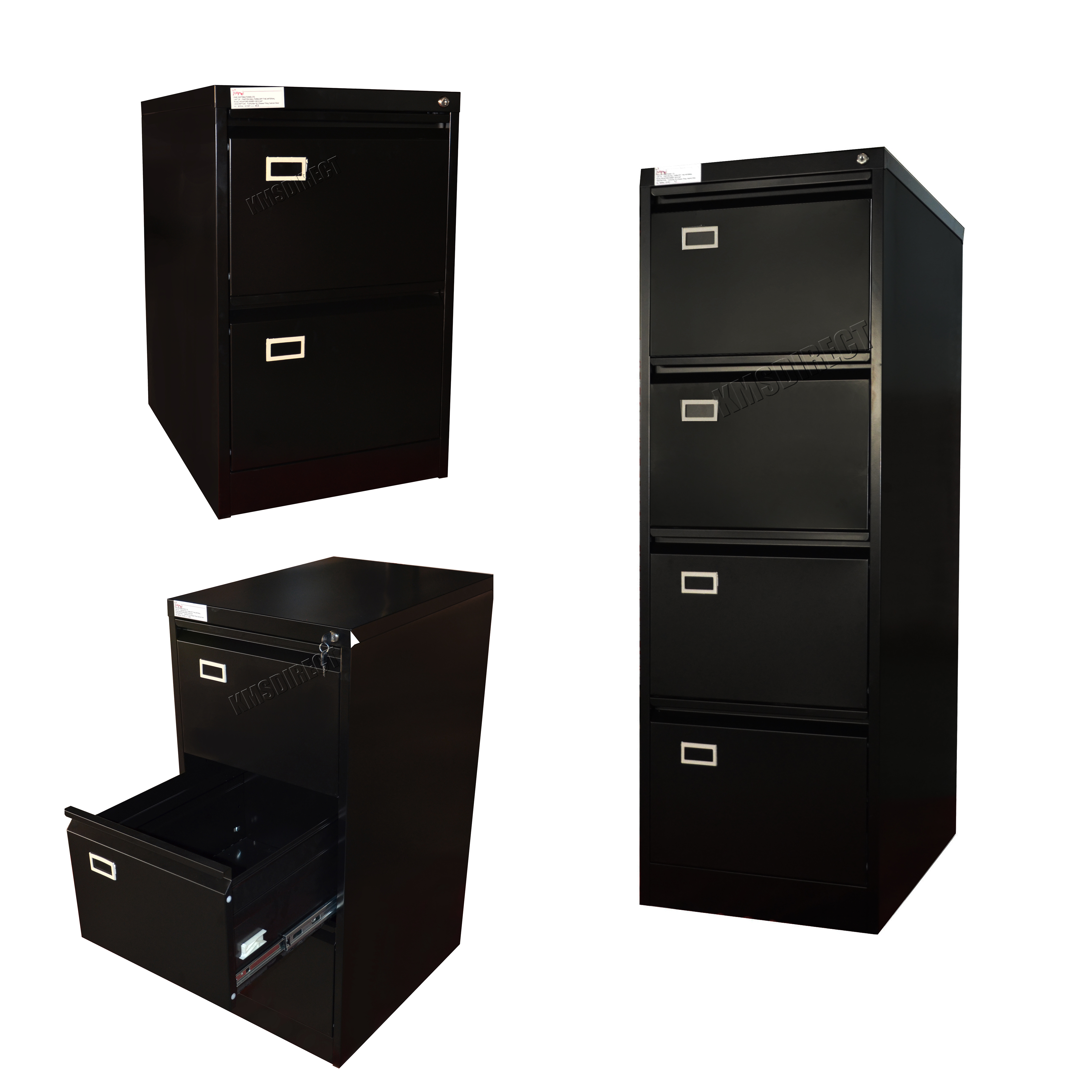 3 drawer metal file cabinet foxhunter steel a4 filing cabinet with 2 3 4 drawer 10167