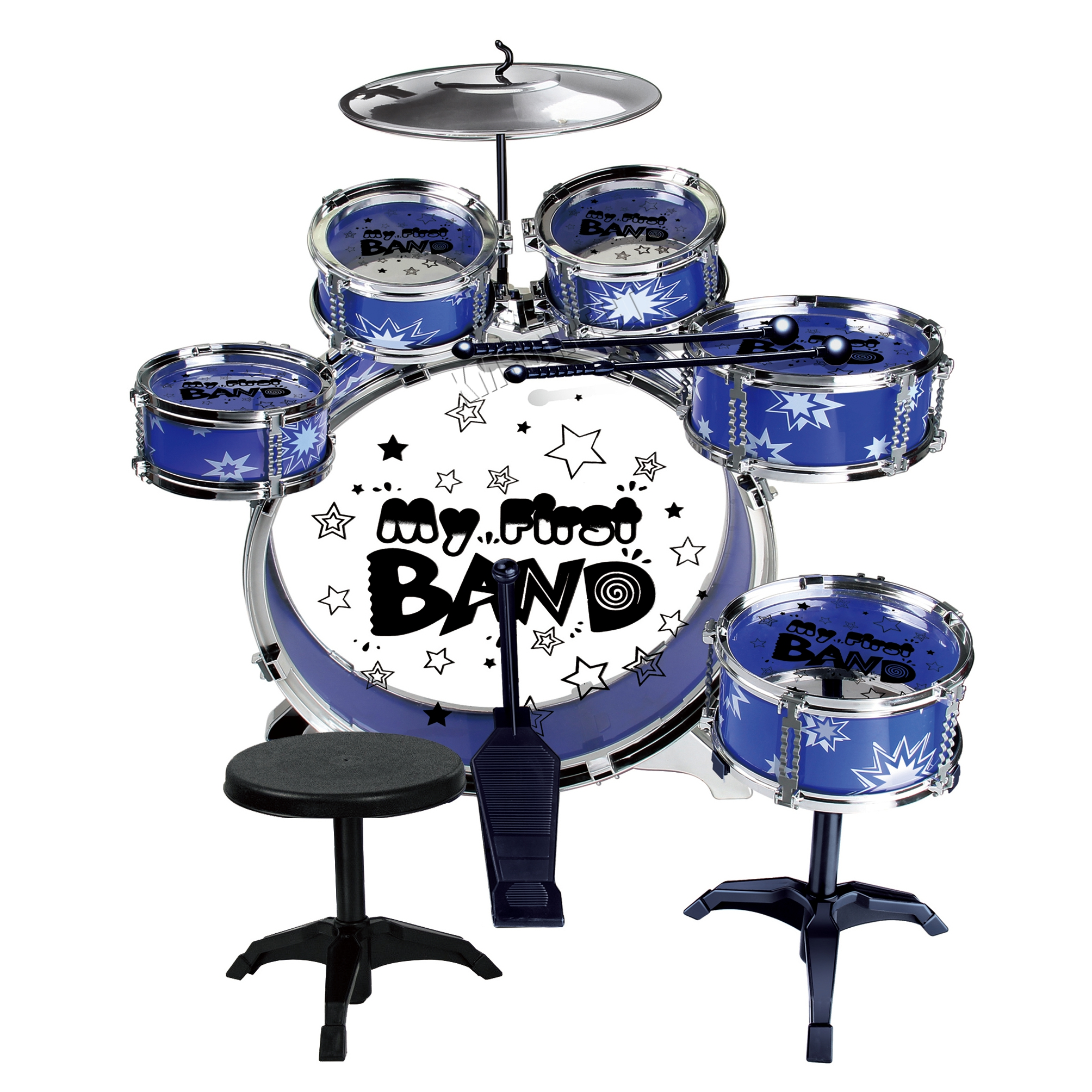 FoxHunter-Kids-Junior-Drum-Play-set-Kit-With-  sc 1 st  eBay & FoxHunter Kids Junior Drum Play set Kit With Stool Sticks Musical ... islam-shia.org