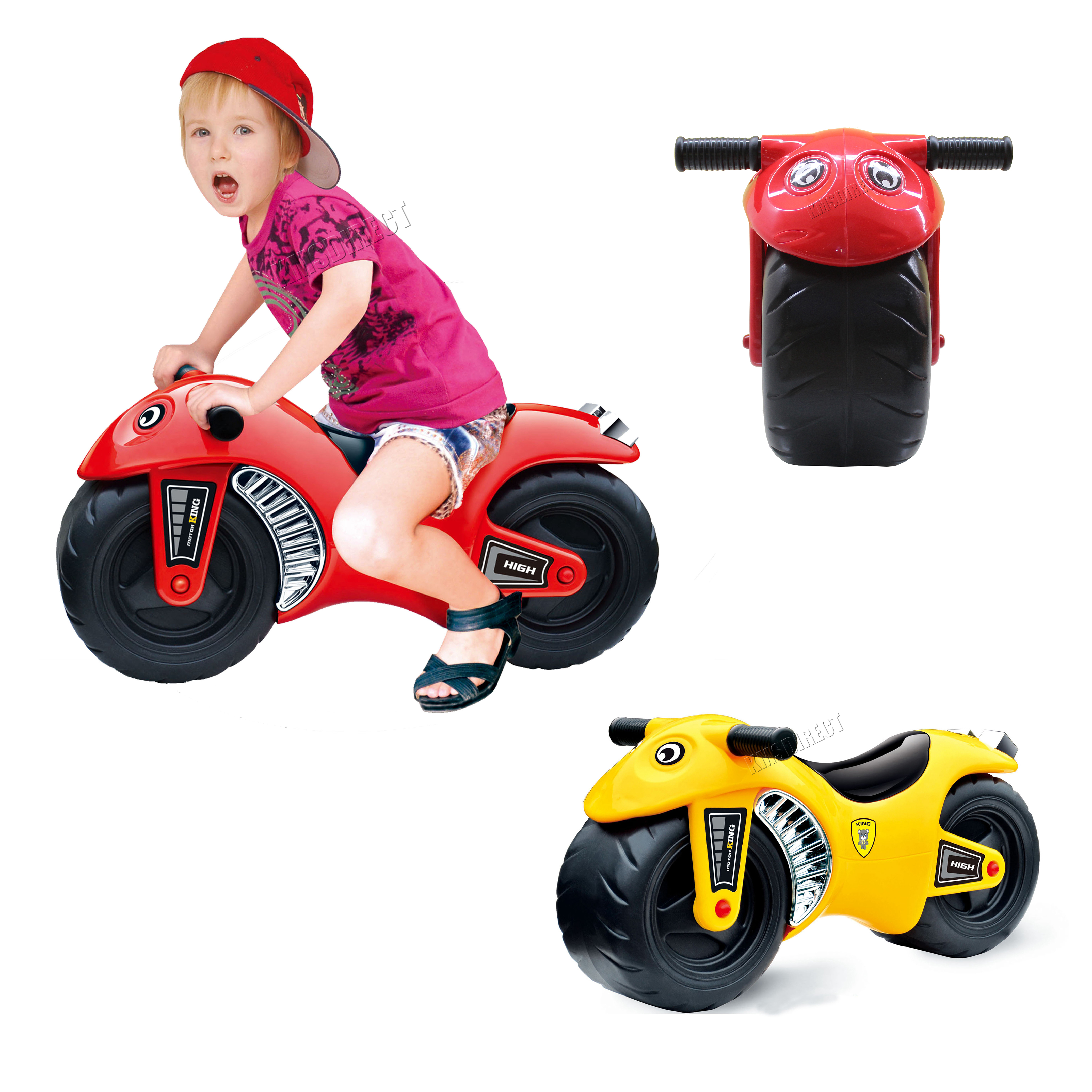 FoxHunter Kids Ride Balance Motorcycle Motorbike Push Along