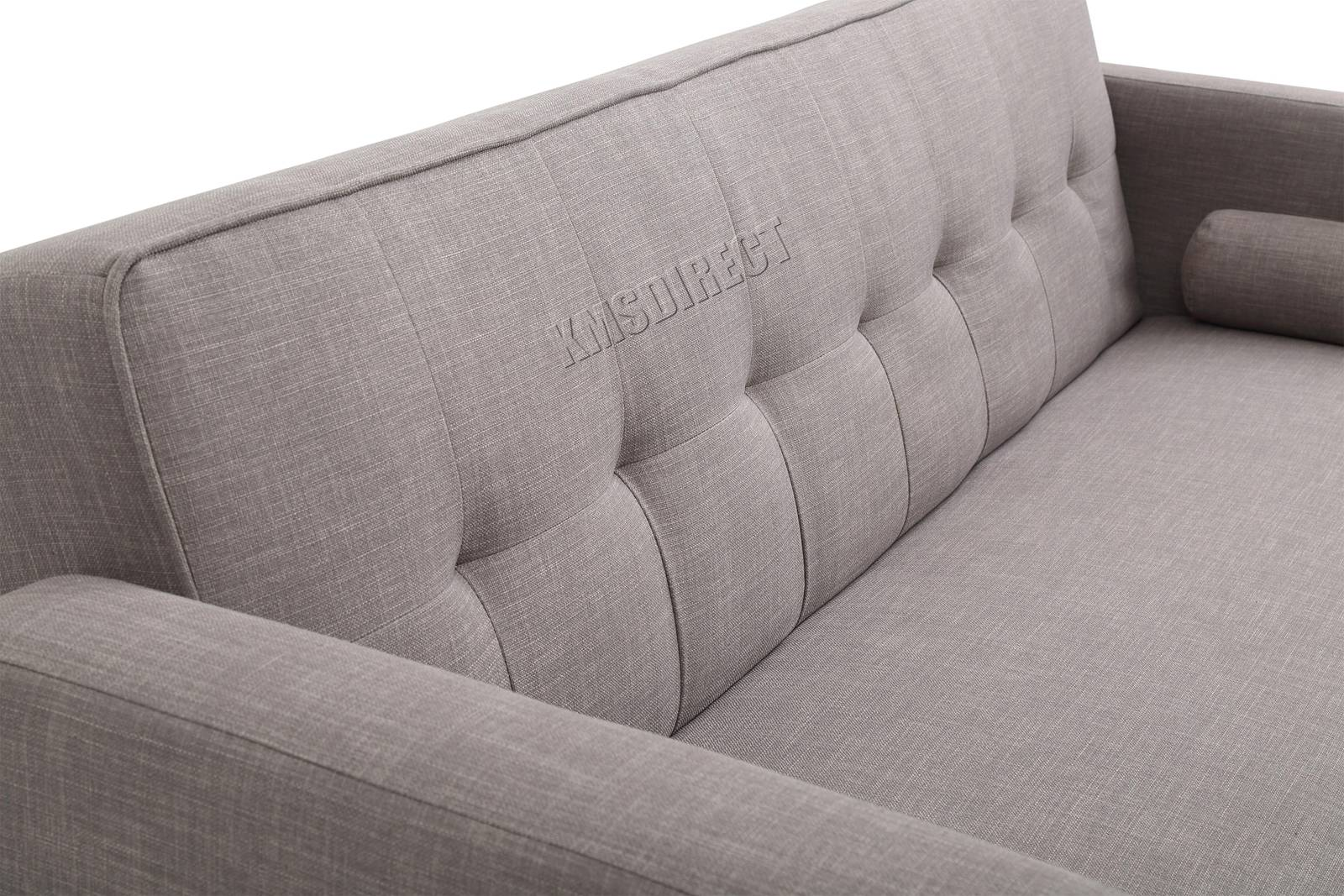 WestWood-Fabric-Sofa-Bed-3-Seater-Couch-Luxury-Modern-Home-Furniture-FSB04-New thumbnail 30