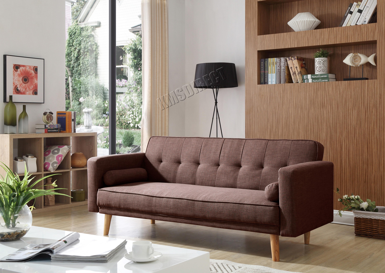 Westwood Tela Sof Cama 3 Plazas Moderno De Lujo Muebles Del Hogar  # Duty Muebles Para El Hogar