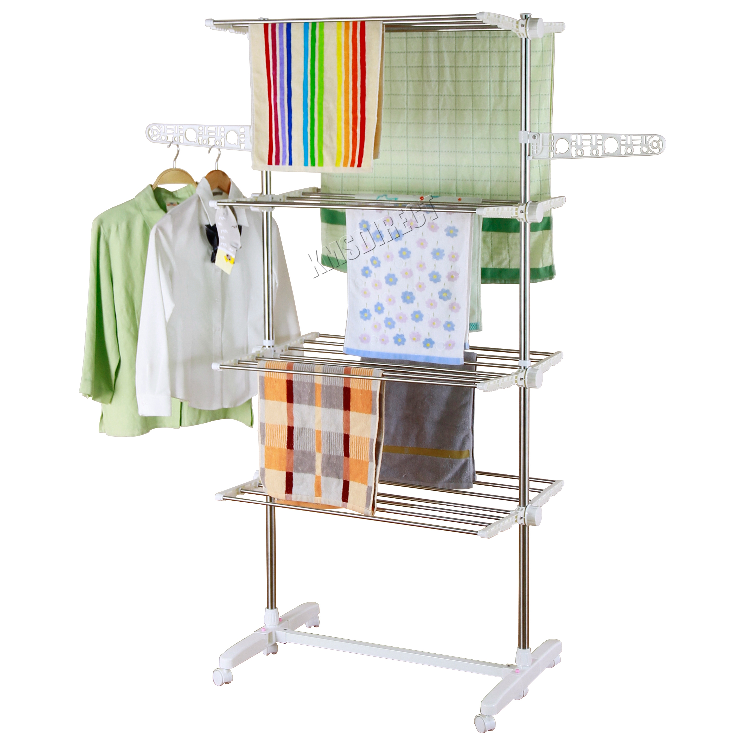 showroom clothes drying and at suppliers food dish manufacturers dryer folding rack bamboo alibaba com