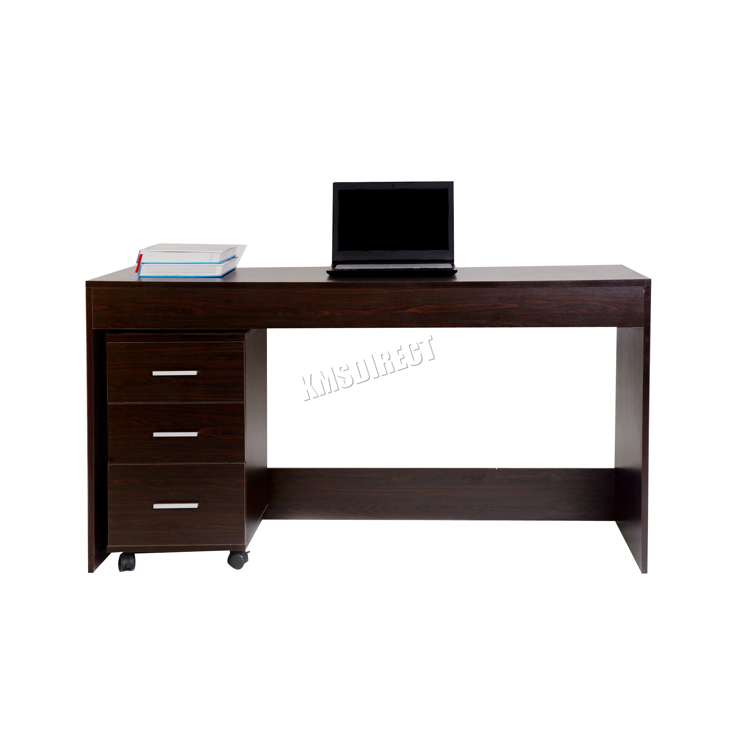 Westwood Computer Desk Pc Table With 3 Drawers Home Office Furniture Study Cd09 Ebay