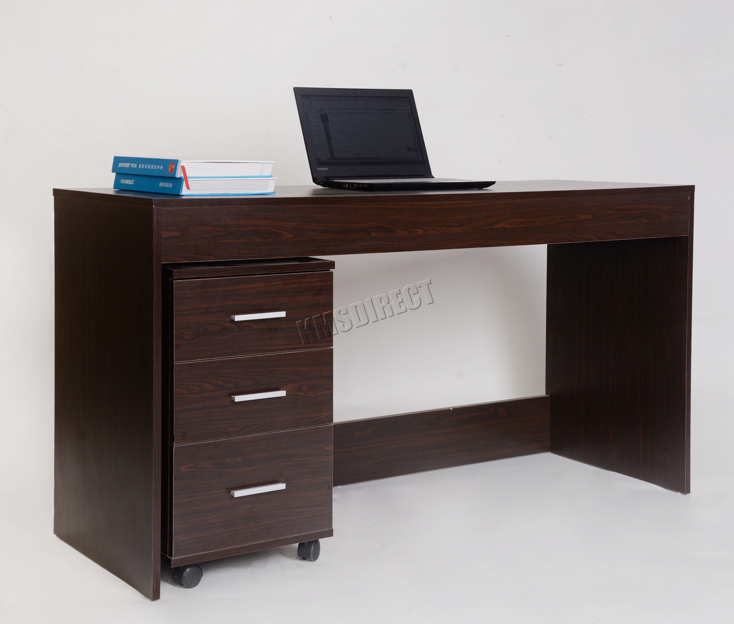 white drawers high desk drawer office unit icarus icw furniture product