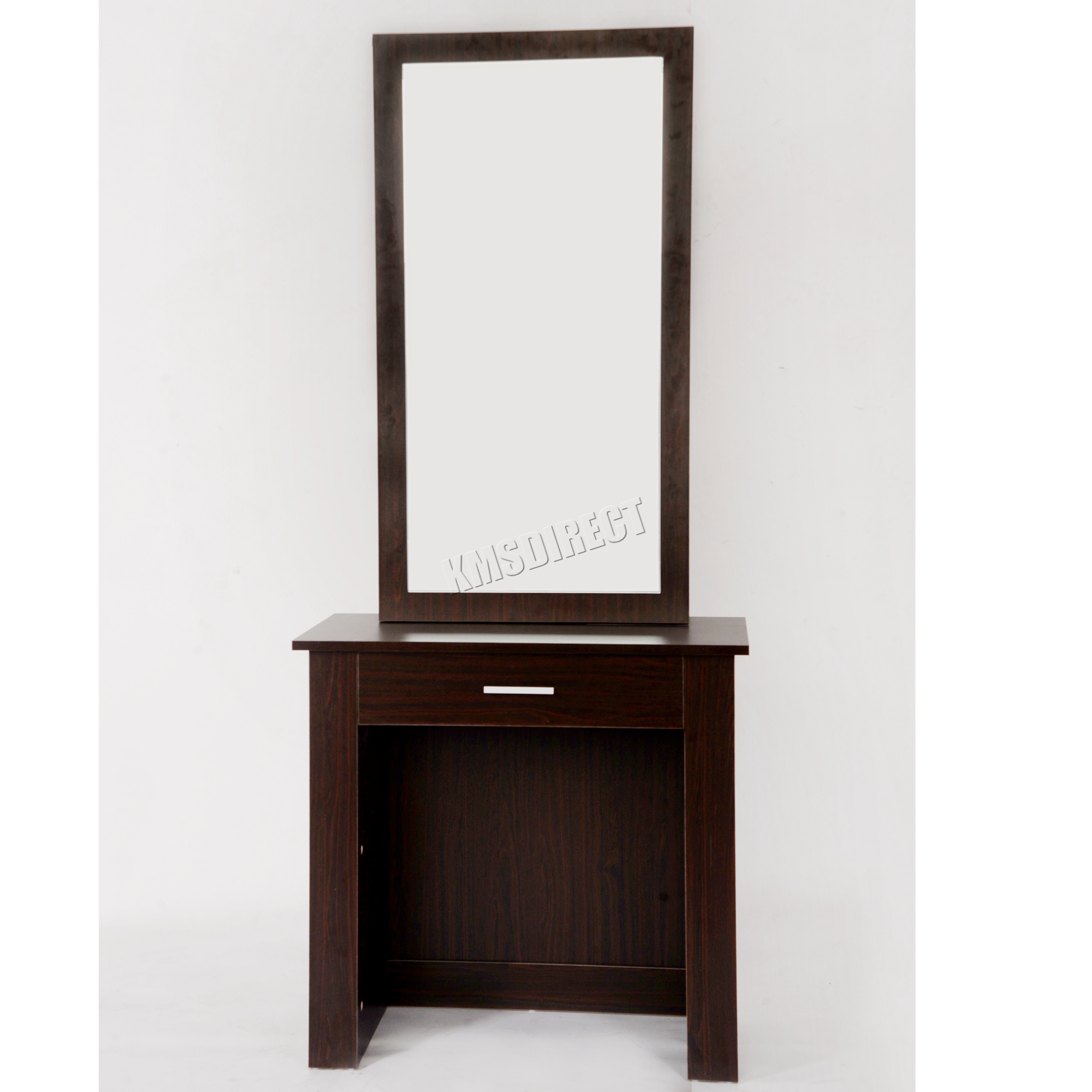 Westwood wooden makeup jewelry dressing table with sliding