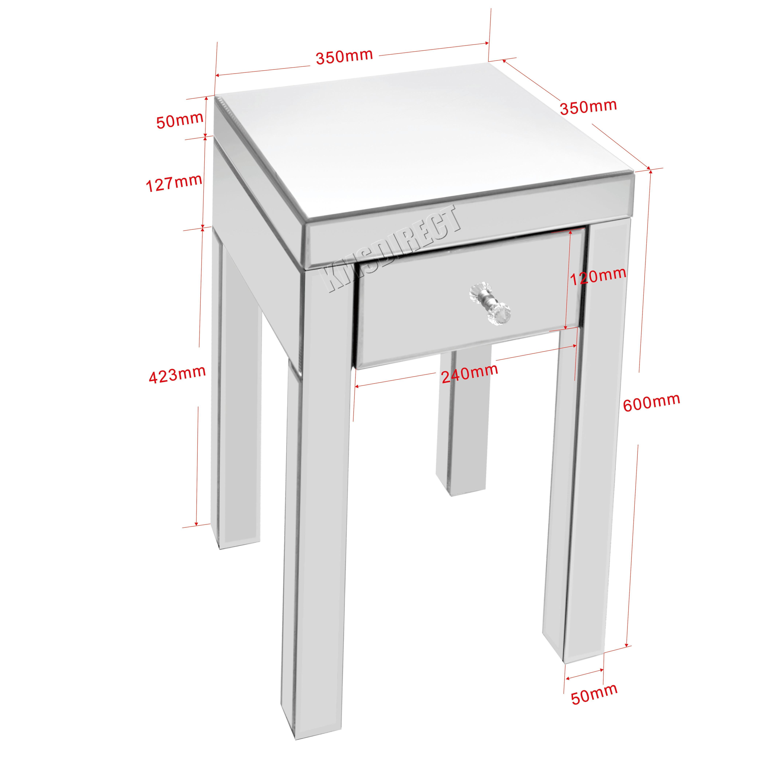 verspiegelte m bel swalif. Black Bedroom Furniture Sets. Home Design Ideas