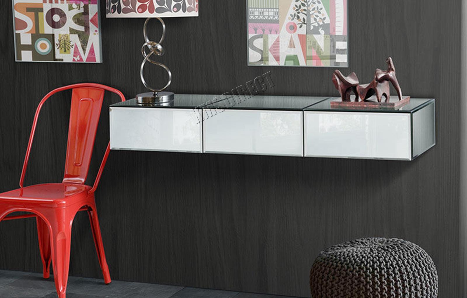 MIRRORED BEDSIDE TABLE VAR KMSWM0404