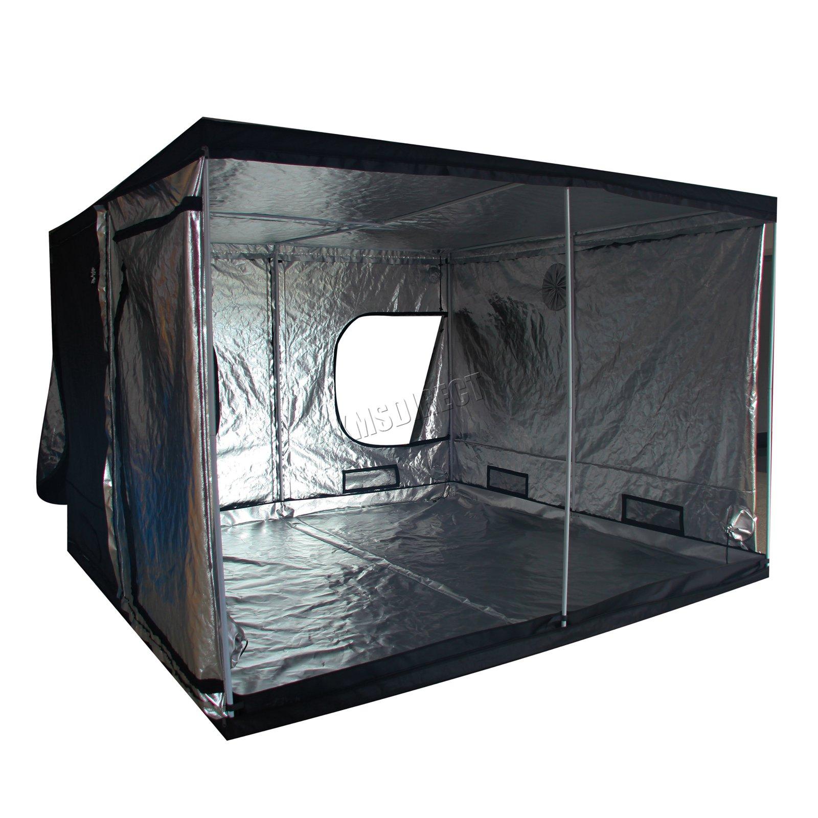 Indoor-Portable-Grow-Tent-Box-Silver-Mylar-Hydroponics-Bud-Green-Room-New-Design miniatuur 23