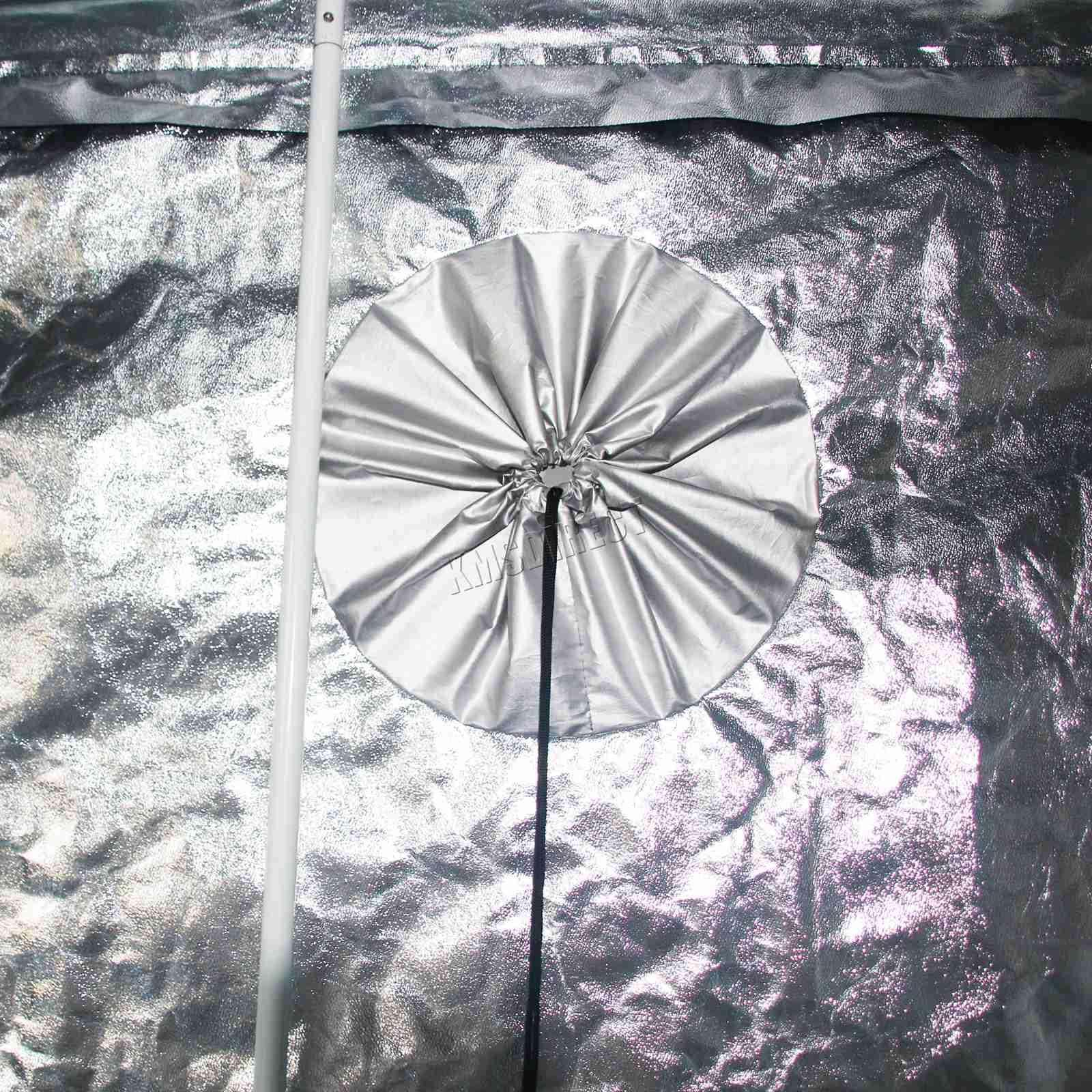 Indoor-Portable-Grow-Tent-Box-Silver-Mylar-Hydroponics-Bud-Green-Room-New-Design miniatuur 26