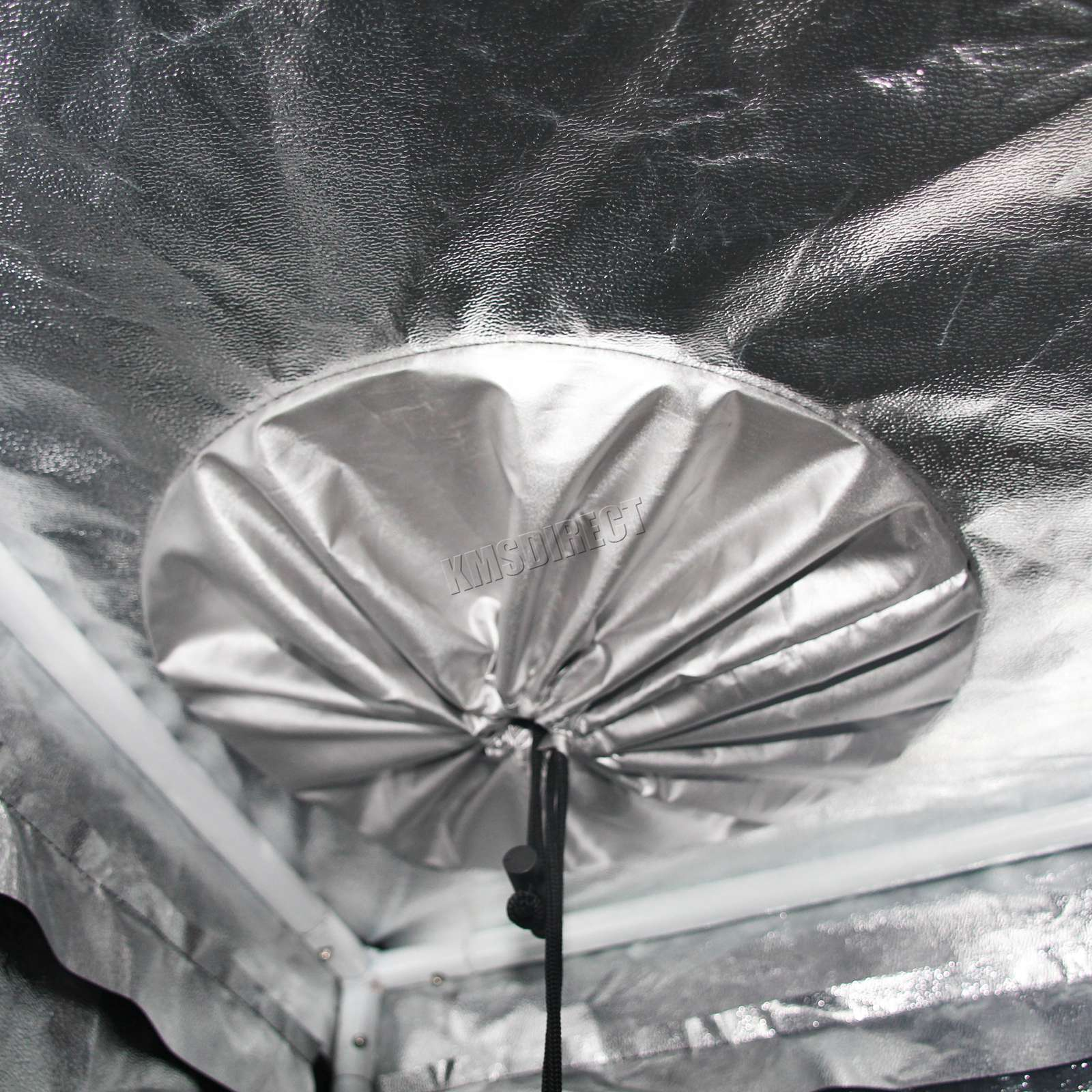 Indoor-Portable-Grow-Tent-Box-Silver-Mylar-Hydroponics-Bud-Green-Room-New-Design miniatuur 27