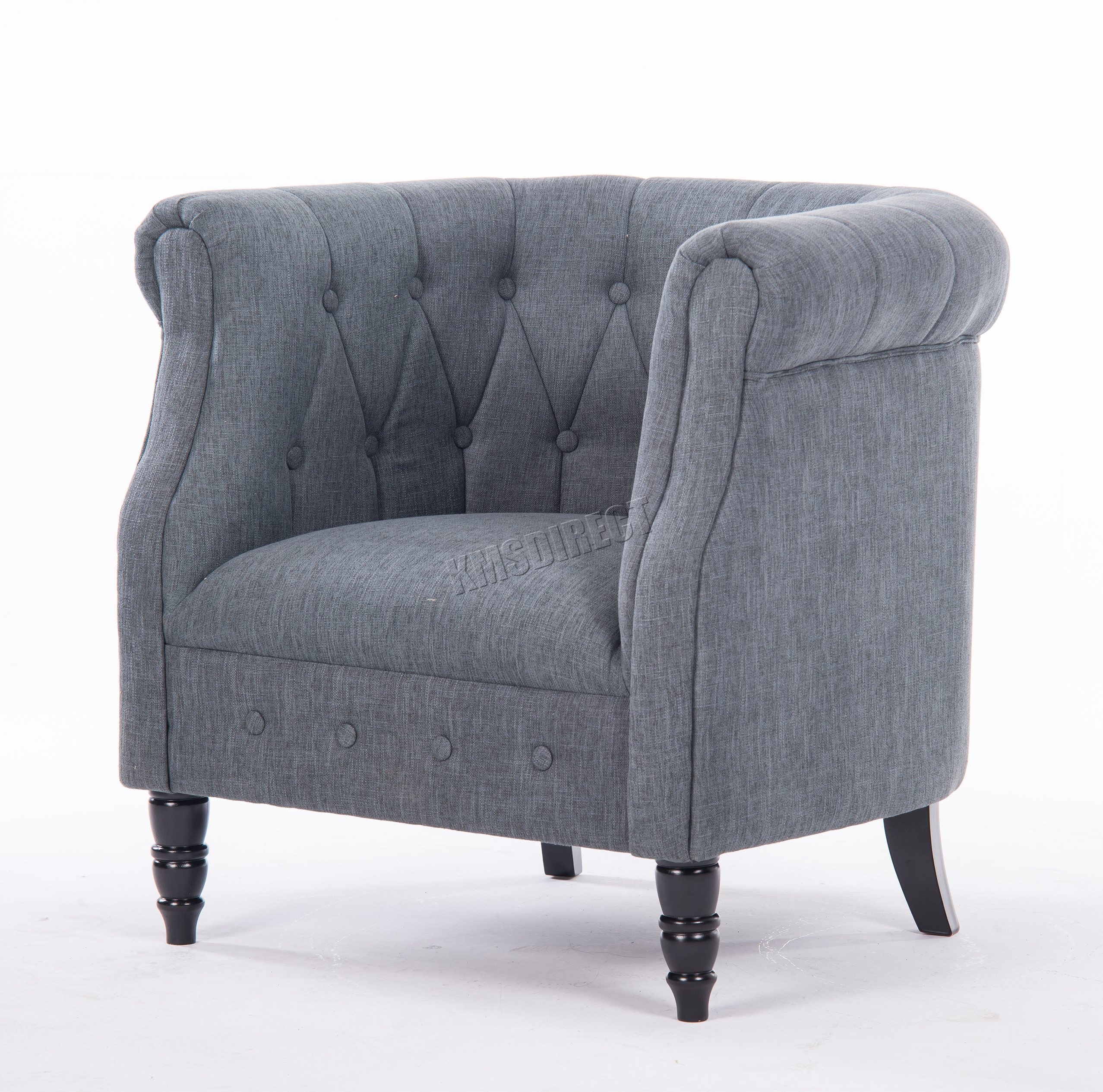 westwood linen fabric tub chair armchair dining living. Black Bedroom Furniture Sets. Home Design Ideas