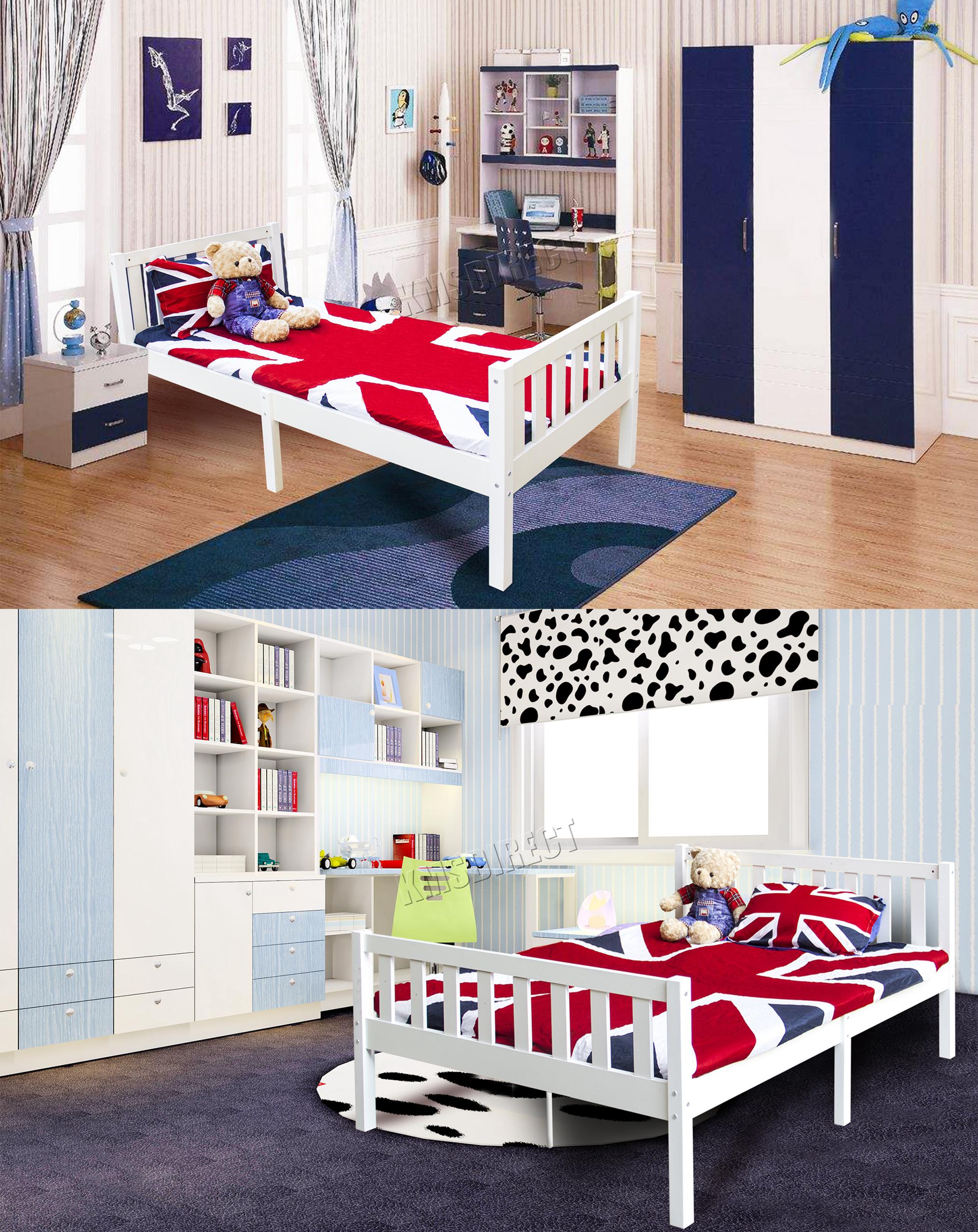Westwood Madera Marco Cama Pino Macizo Muebles De Dormitorio Hogar  # Duty Muebles Para El Hogar