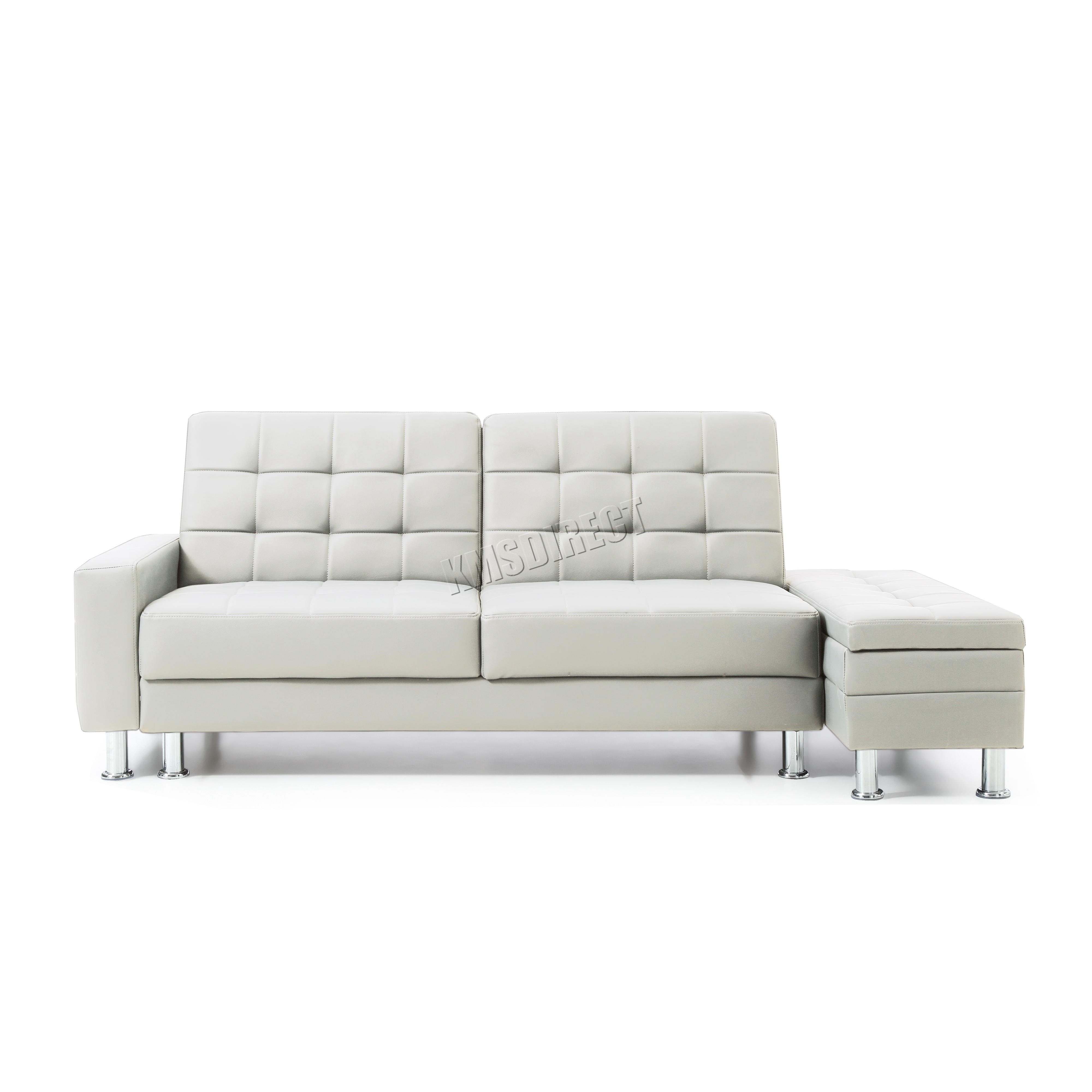 Ottoman sofa beds bed in a box with bi fold lid make your for Sofa bed in a box