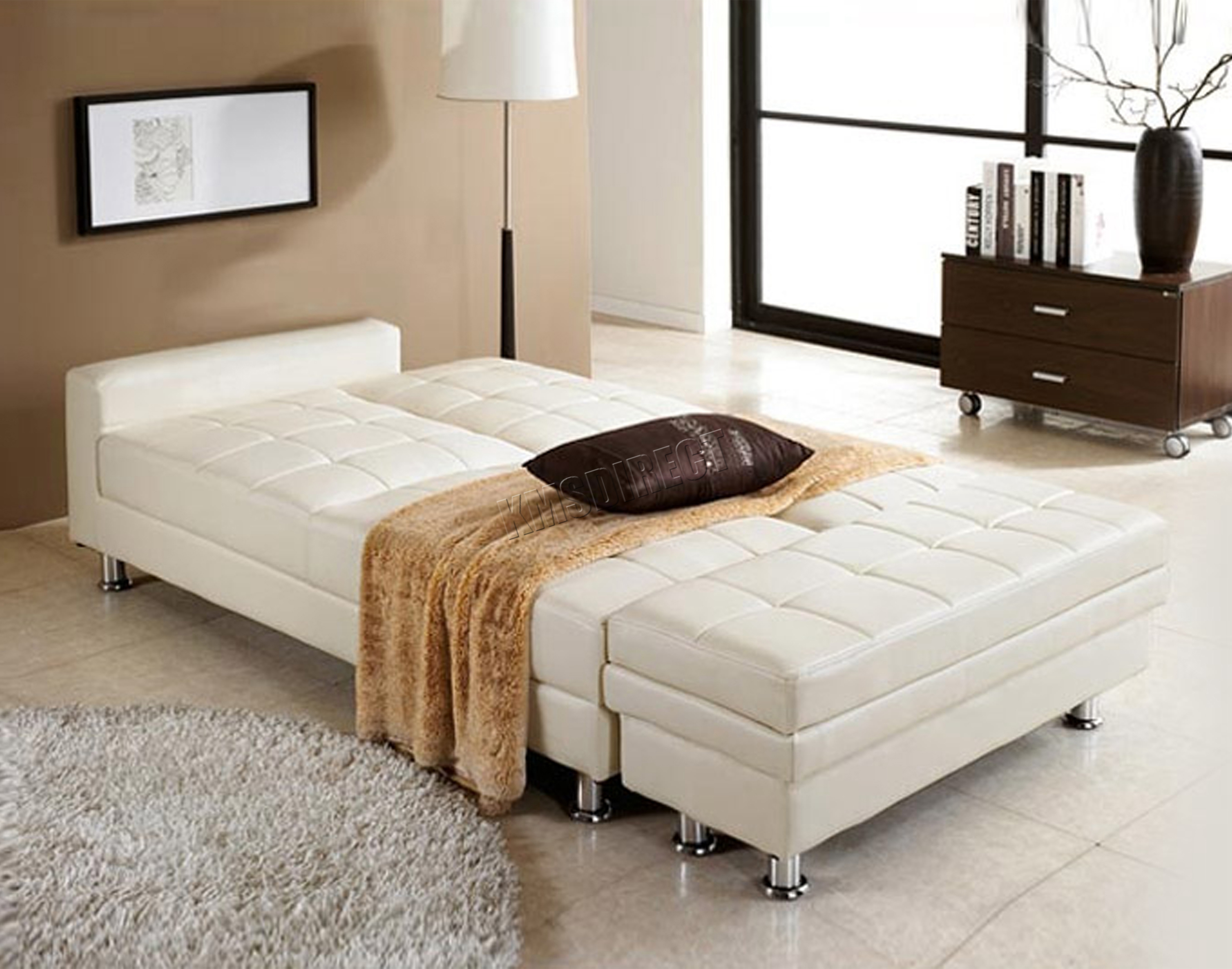 WestWood-PU-Sofa-Bed-With-Storage-3-Seater-Guest-Sleeper-Ottoman-Stool-PSB04