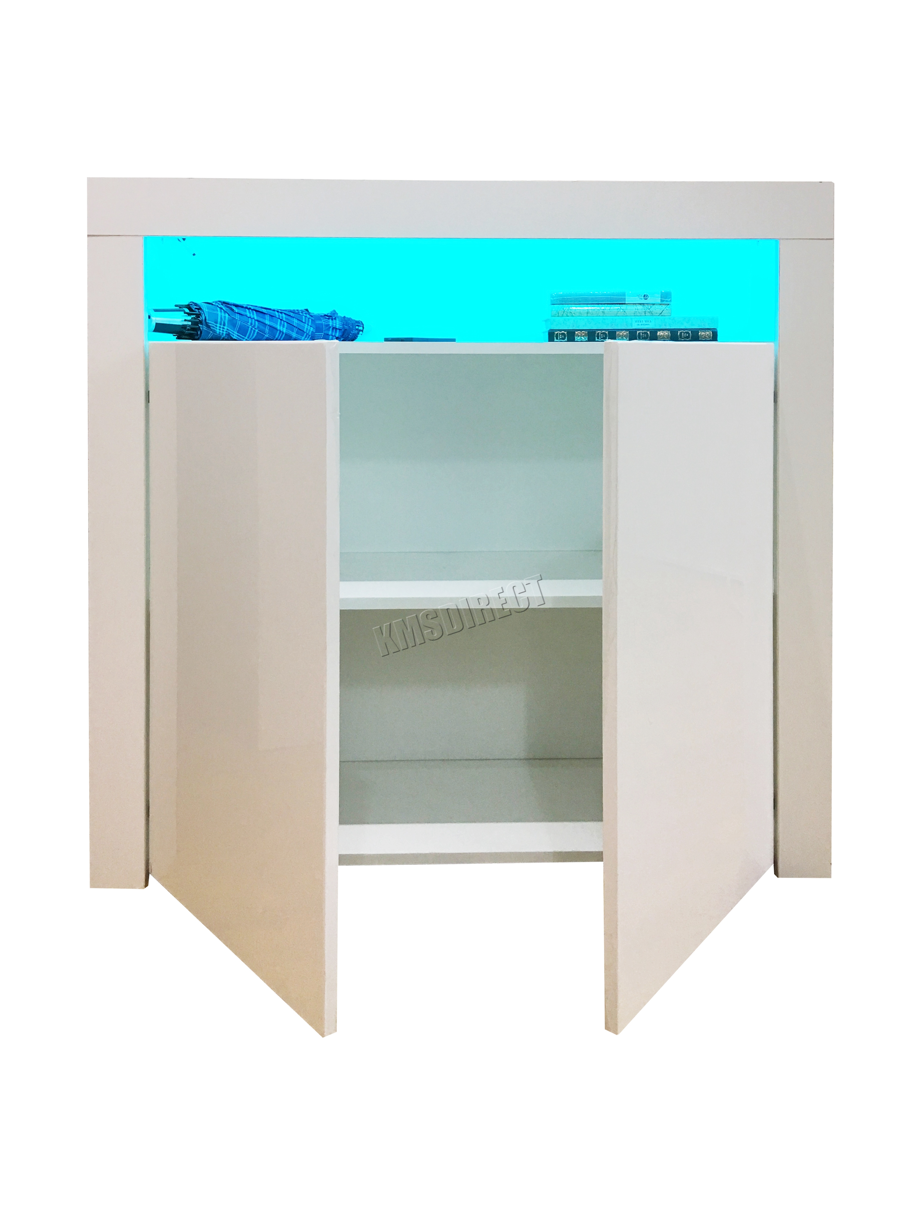 WestWood High Gloss Matt Cabinet Sideboard PB Remote Control LED ...