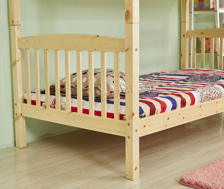 RIPARO 3FT in legno telaio letto a Castello Legno Bambini Sleeper ...