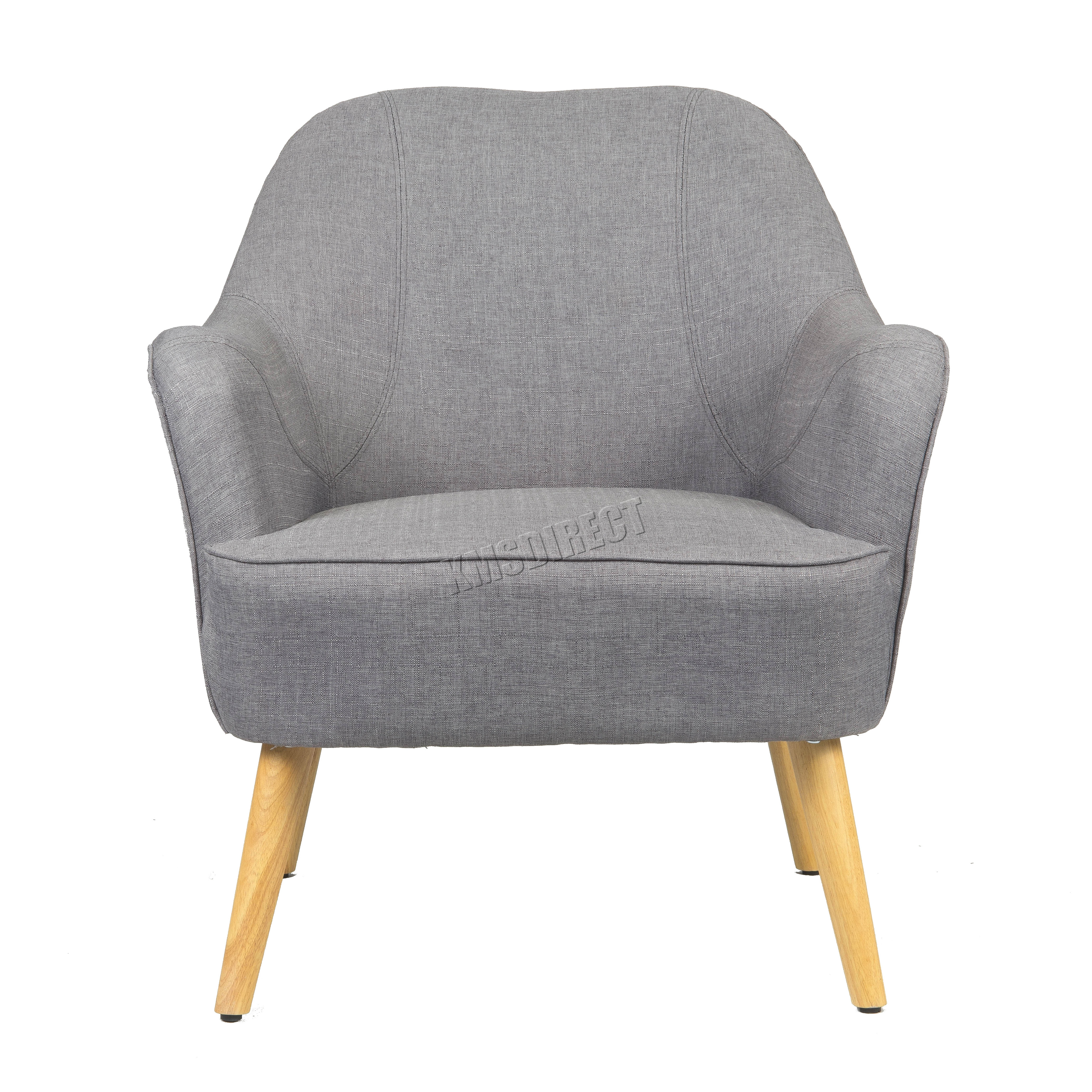sentinel foxhunter linen fabric tub chair armchair dining living room lounge tc10 modern