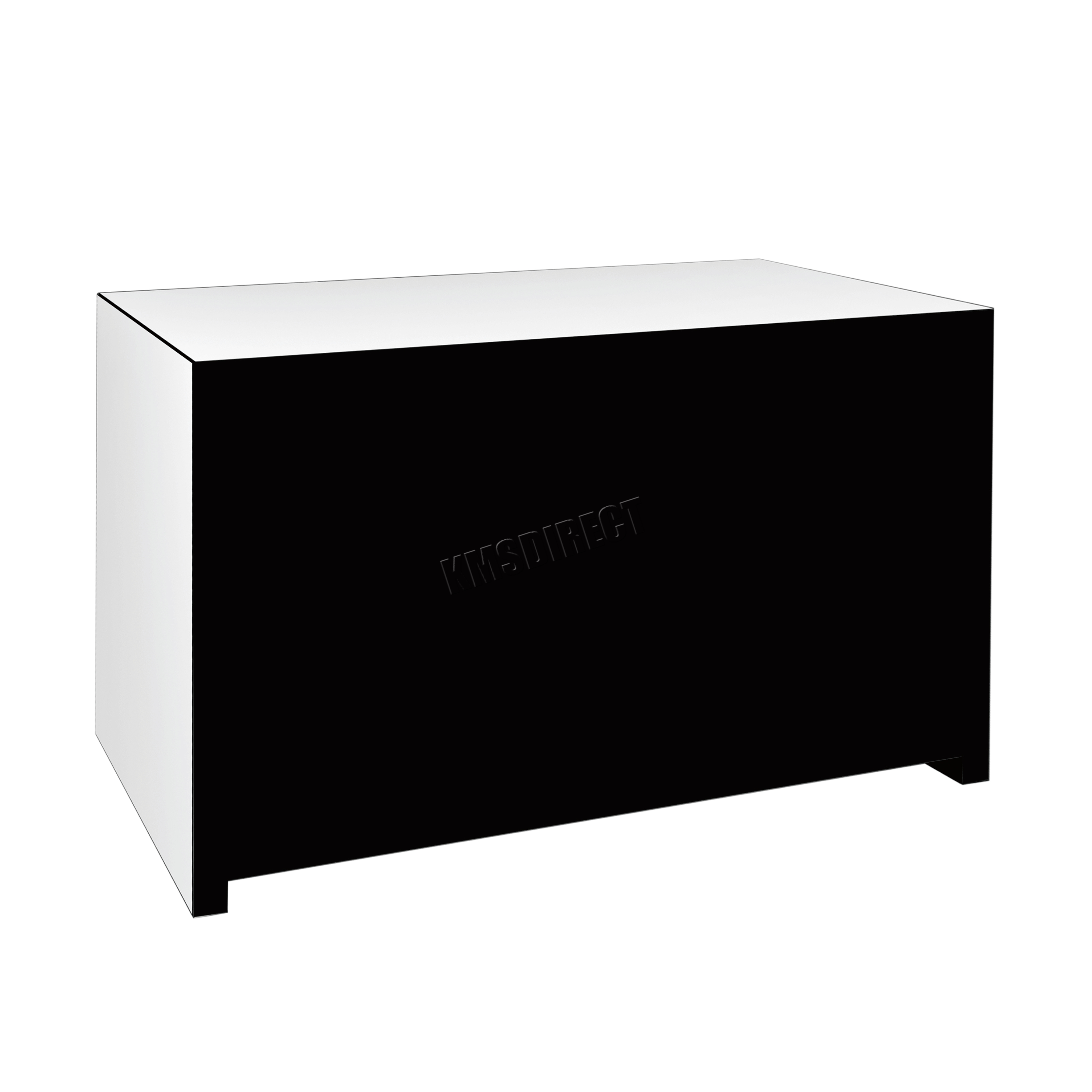 westwood verspiegelt m bel glas mit schublade truhe schrank tisch schlafzimmer ebay. Black Bedroom Furniture Sets. Home Design Ideas