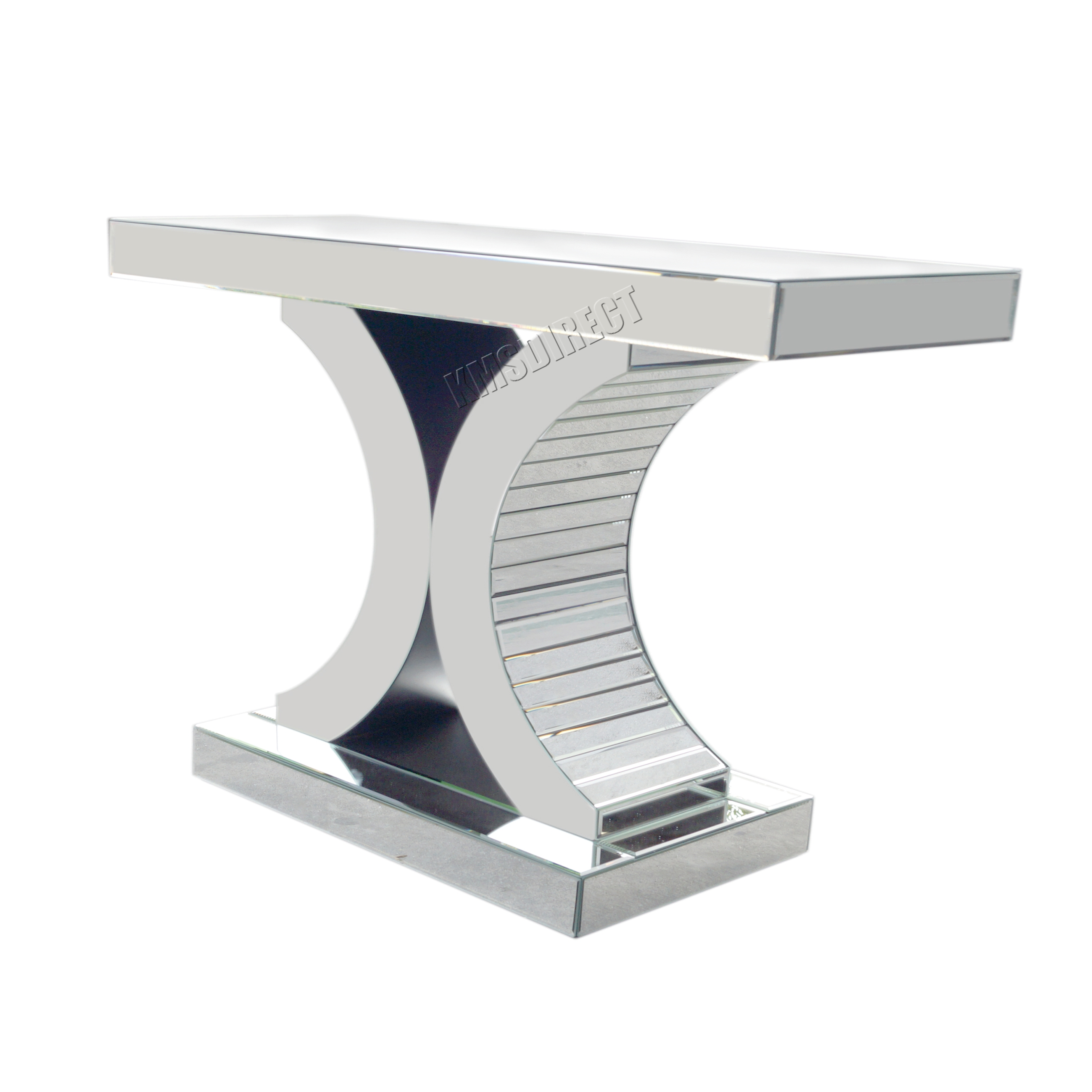 mirror console table. FoxHunter-Mirrored-Furniture-Glass-Table-Console-Desk-Bedroom- Mirror Console Table 0