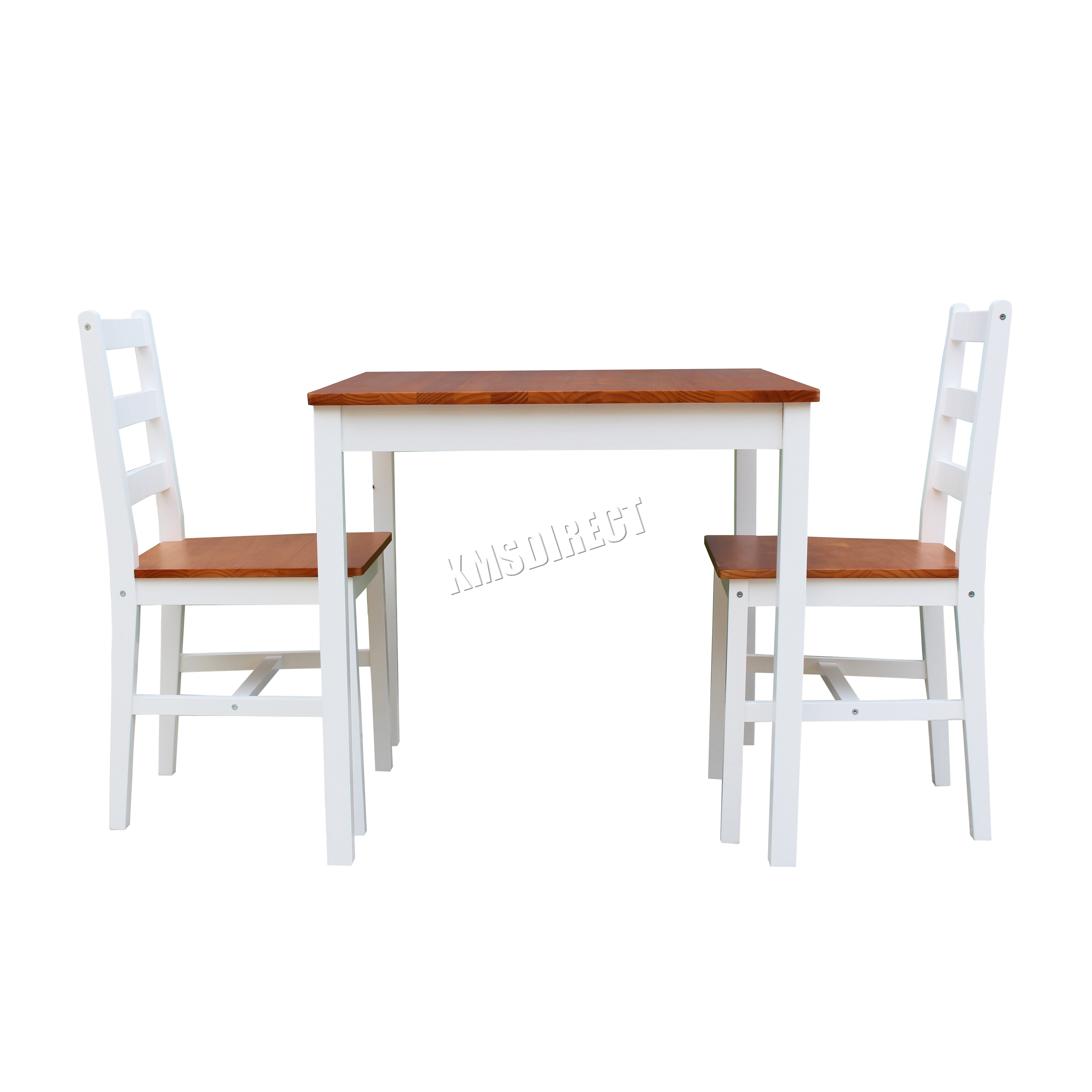 Ikea Kitchen Chair Chair Chairs Wooden Chair Pine Dining: WestWood Solid Pine Wood Dining Table With 2 Chairs Set