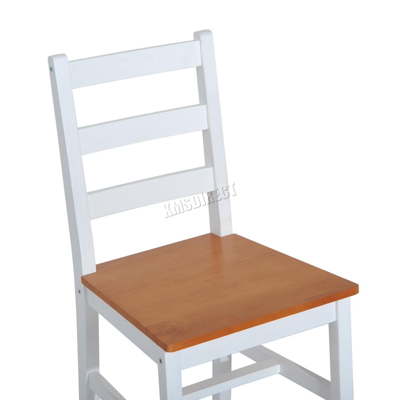 Westwood pino macizo madera mesa de comedor con 2 sillas for Sillas cocina madera