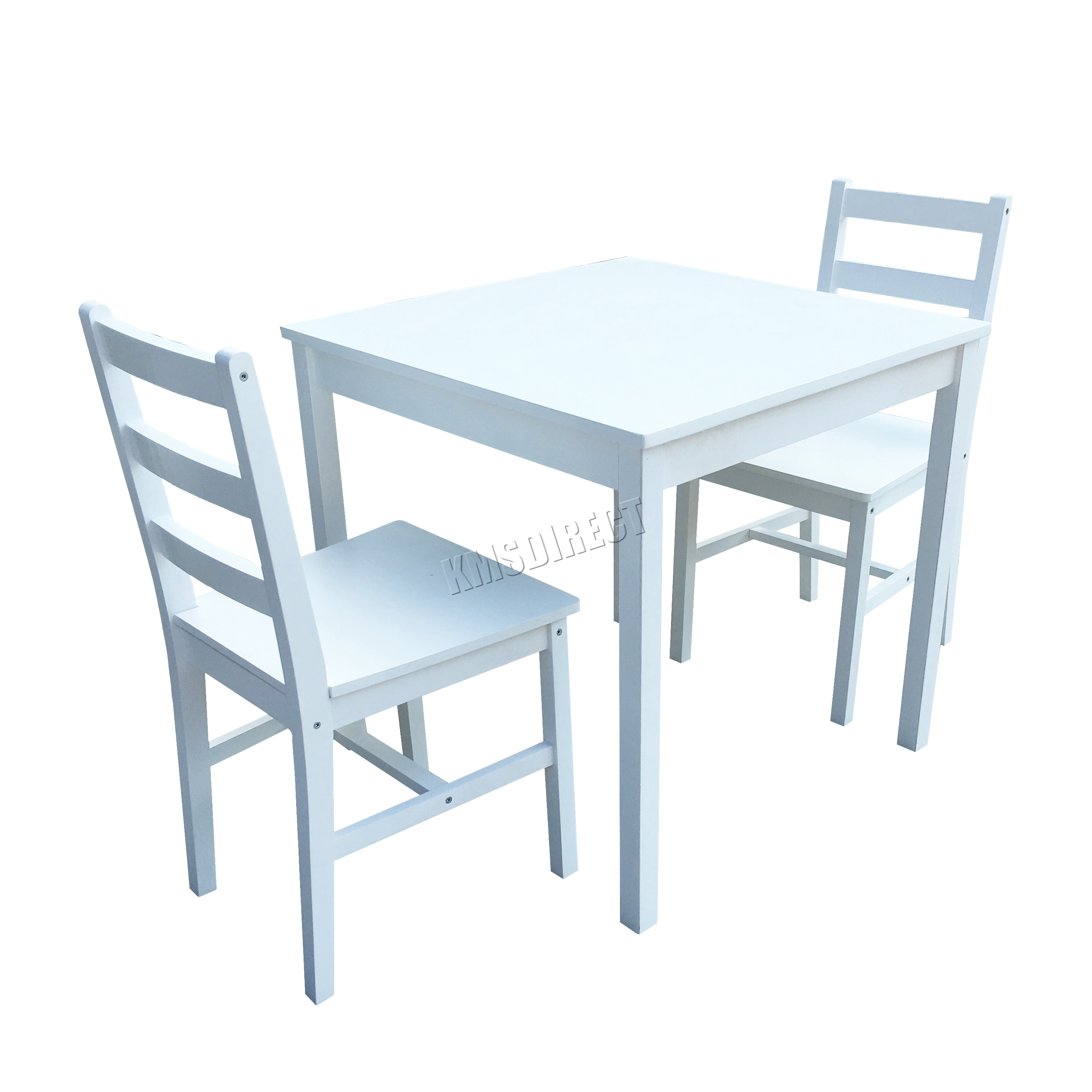 Westwood solid pine wood dining table with 2 chairs set kitchen home furniture ebay - Ebay kitchen table sets ...