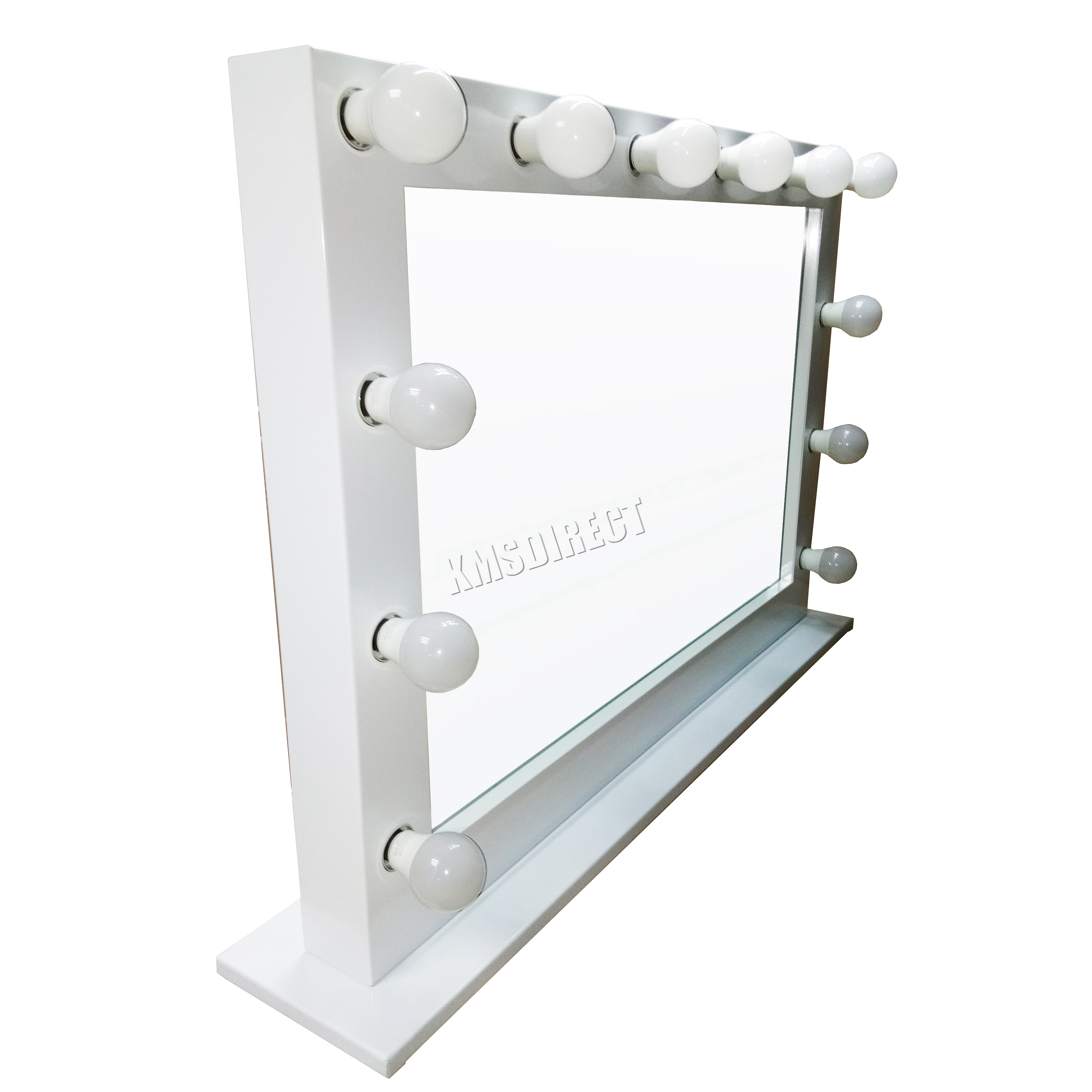 Foxhunter Makeup Mirror Led 12 Bulbs Dimmer Light Cosmetic