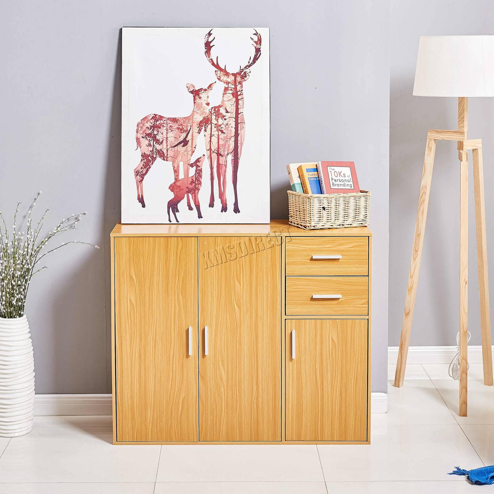 WestWood-Sideboard-Cabinet-Storage-tableware-Kitchen-Cupboard-Unit-PB-SSP01-NEW thumbnail 14