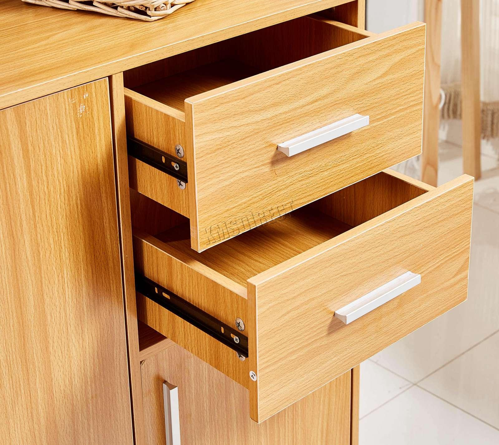 WestWood-Sideboard-Cabinet-Storage-tableware-Kitchen-Cupboard-Unit-PB-SSP01-NEW thumbnail 19