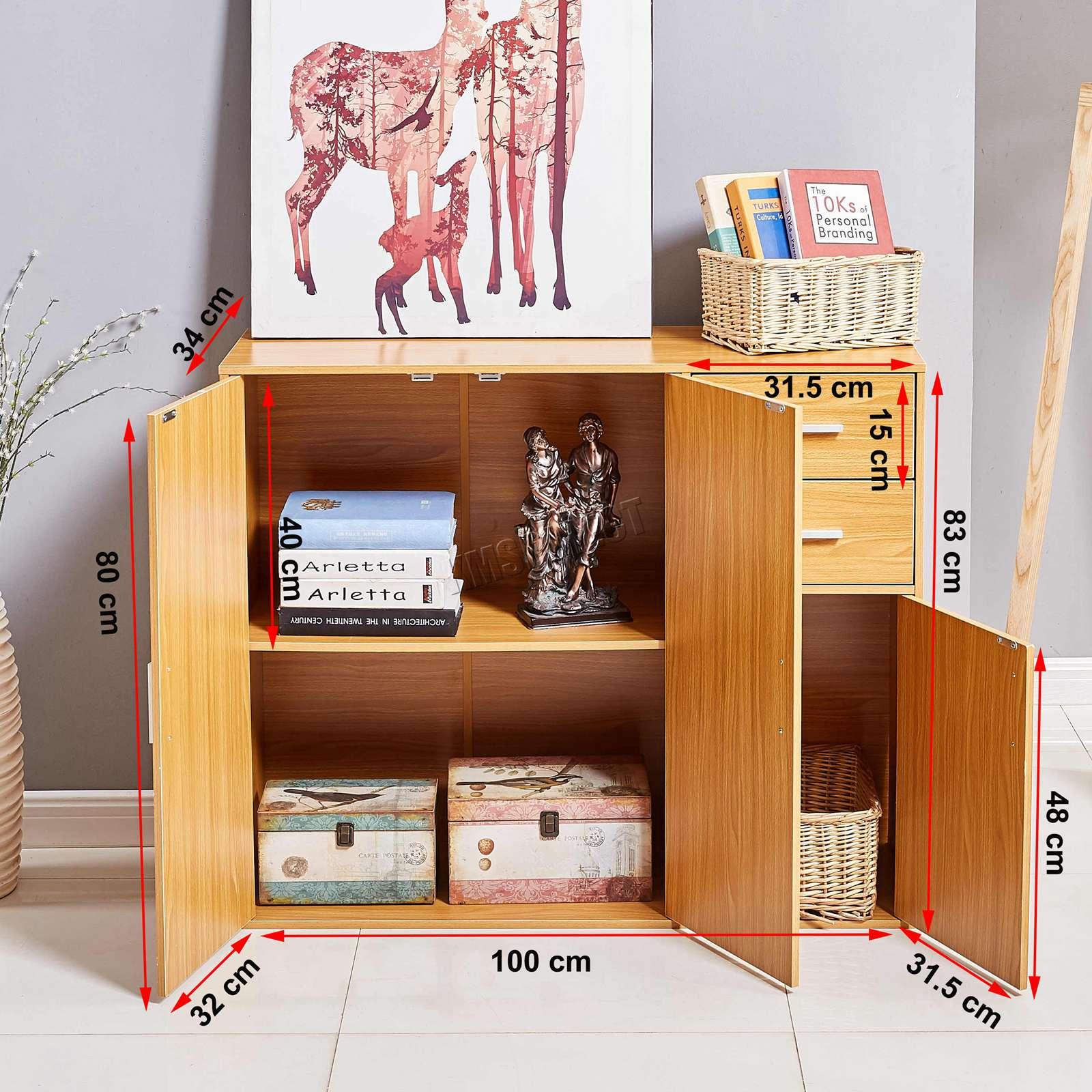 WestWood-Sideboard-Cabinet-Storage-tableware-Kitchen-Cupboard-Unit-PB-SSP01-NEW thumbnail 21