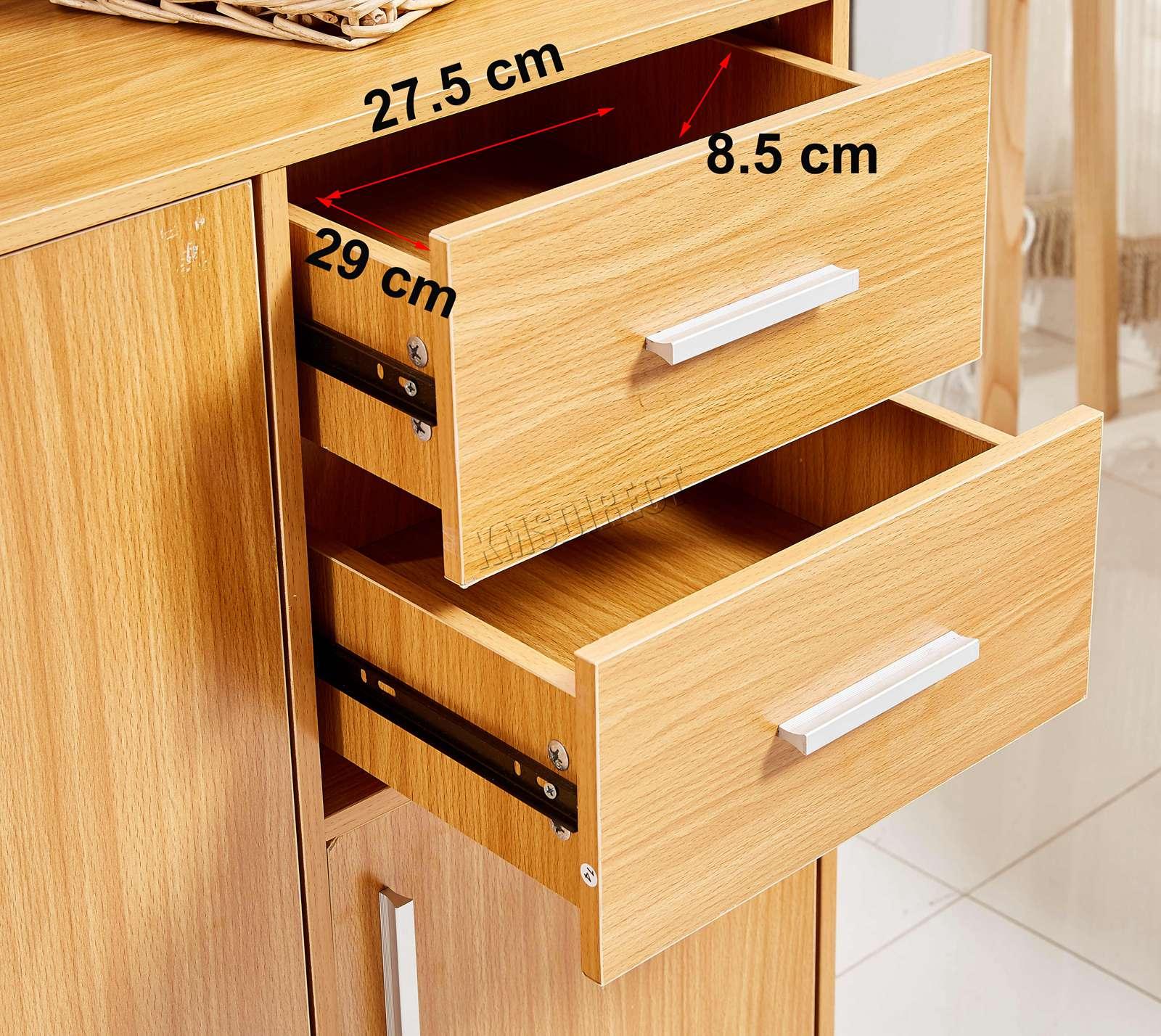 WestWood-Sideboard-Cabinet-Storage-tableware-Kitchen-Cupboard-Unit-PB-SSP01-NEW thumbnail 22
