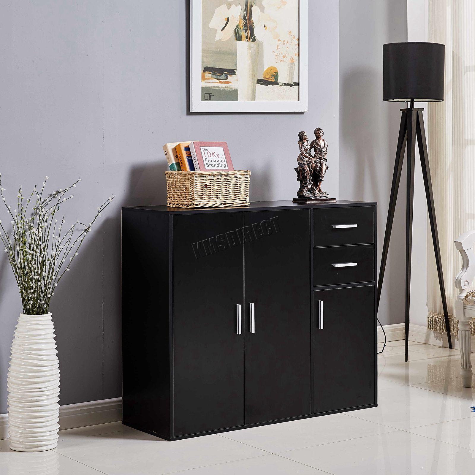 WestWood-Sideboard-Cabinet-Storage-tableware-Kitchen-Cupboard-Unit-PB-SSP01-NEW thumbnail 24