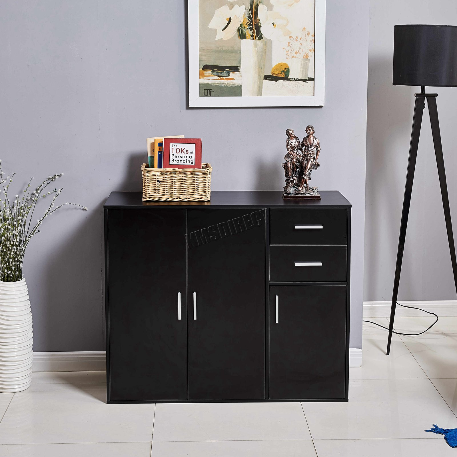 WestWood-Sideboard-Cabinet-Storage-tableware-Kitchen-Cupboard-Unit-PB-SSP01-NEW thumbnail 25