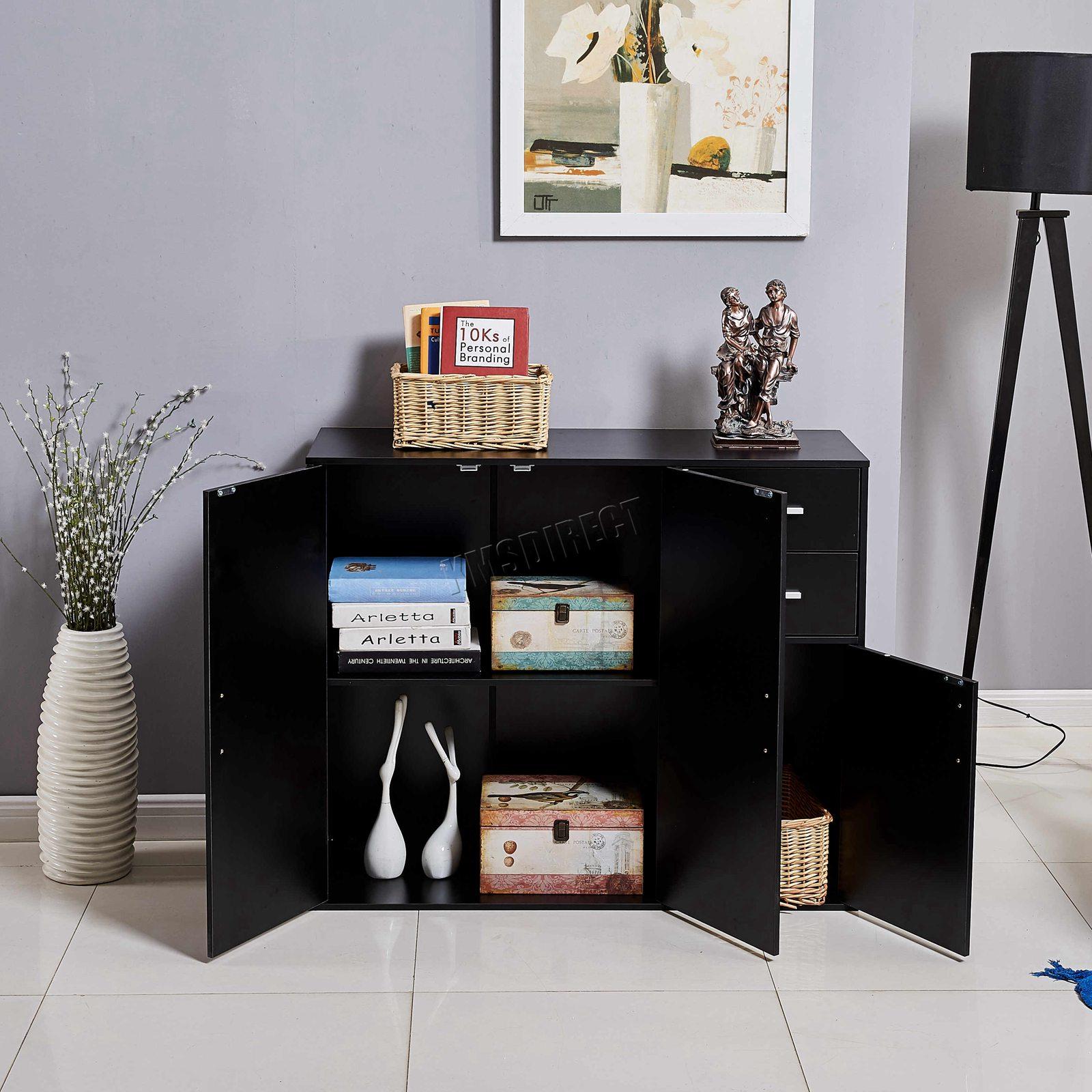 WestWood-Sideboard-Cabinet-Storage-tableware-Kitchen-Cupboard-Unit-PB-SSP01-NEW thumbnail 27