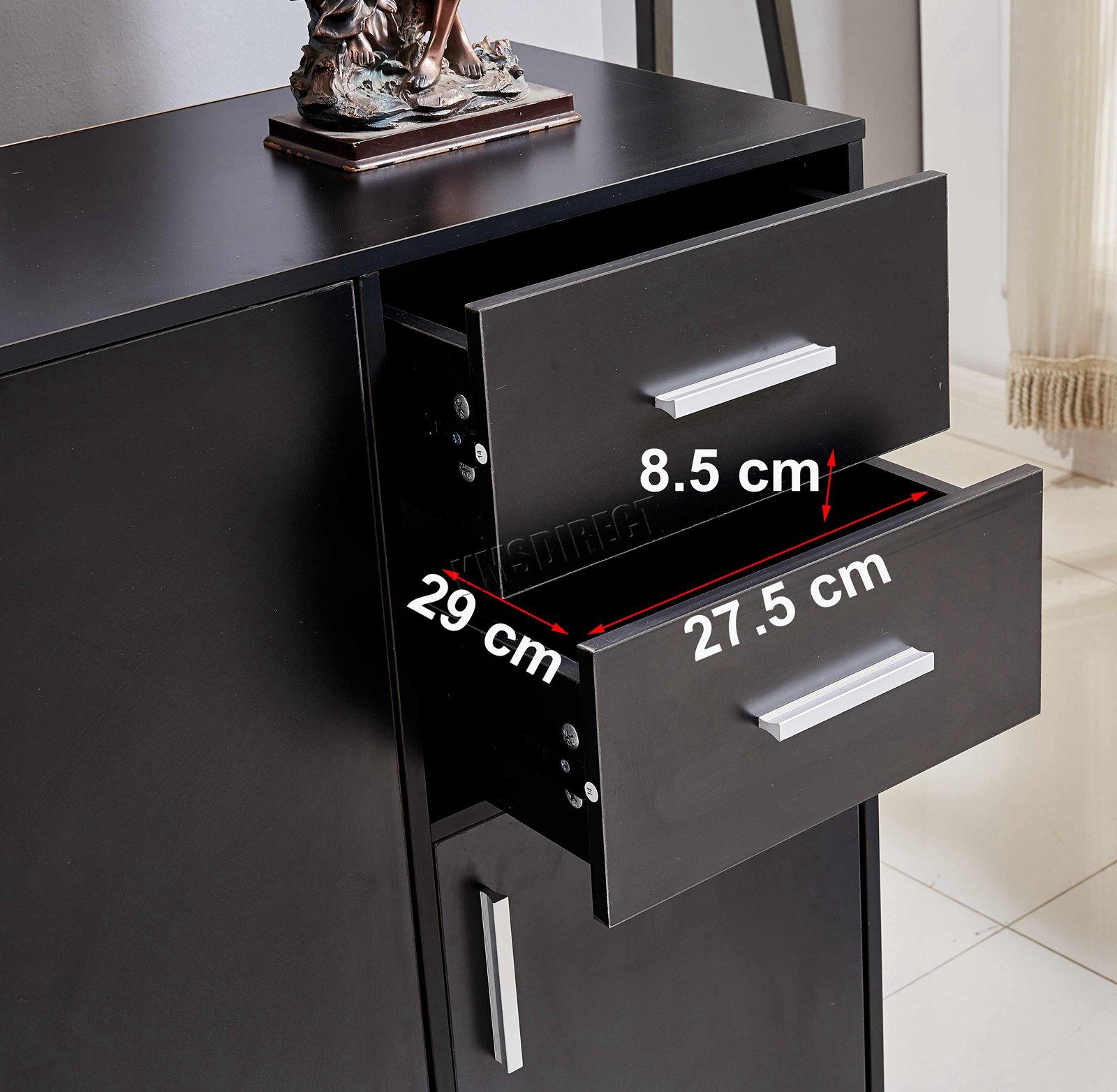 WestWood-Sideboard-Cabinet-Storage-tableware-Kitchen-Cupboard-Unit-PB-SSP01-NEW thumbnail 33