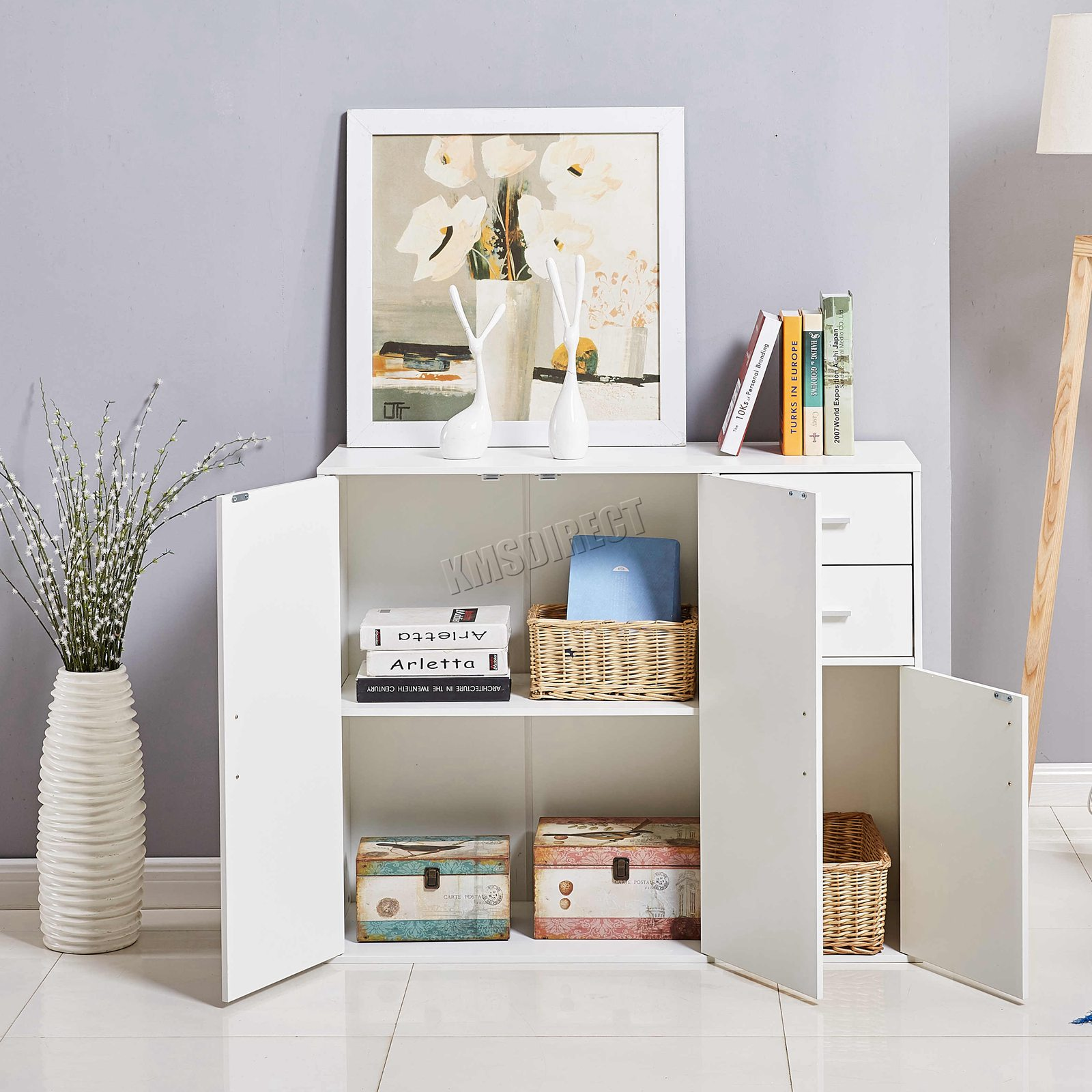 WestWood-Sideboard-Cabinet-Storage-tableware-Kitchen-Cupboard-Unit-PB-SSP01-NEW thumbnail 38