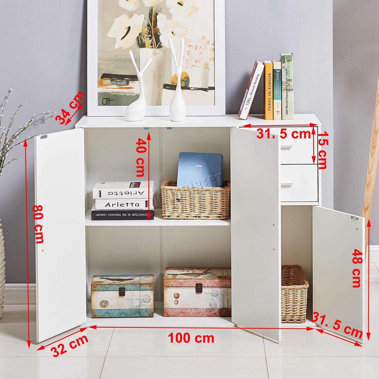 WestWood-Sideboard-Cabinet-Storage-tableware-Kitchen-Cupboard-Unit-PB-SSP01-NEW thumbnail 43