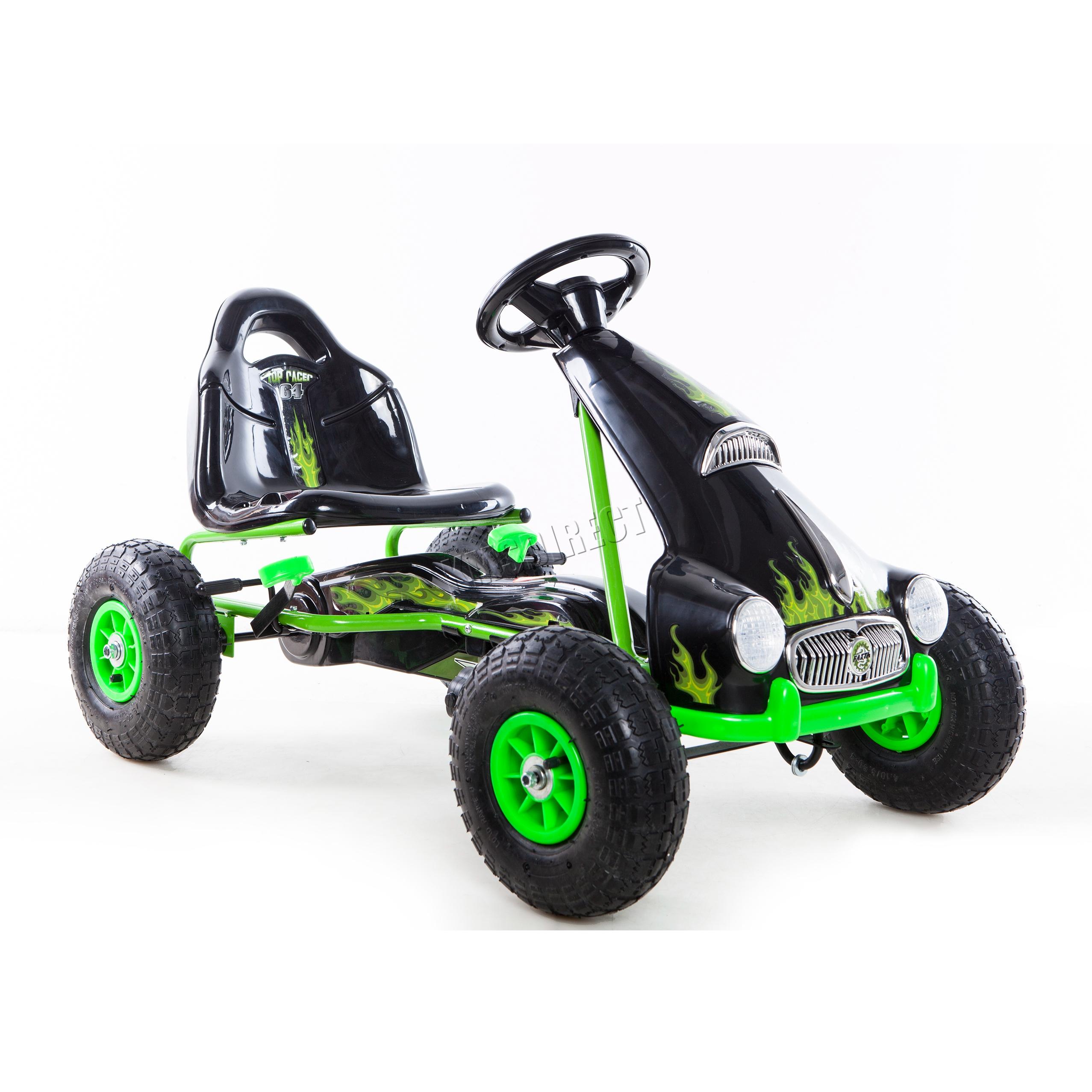 foxhunter kinder kind go kart rutscher auto pedale. Black Bedroom Furniture Sets. Home Design Ideas