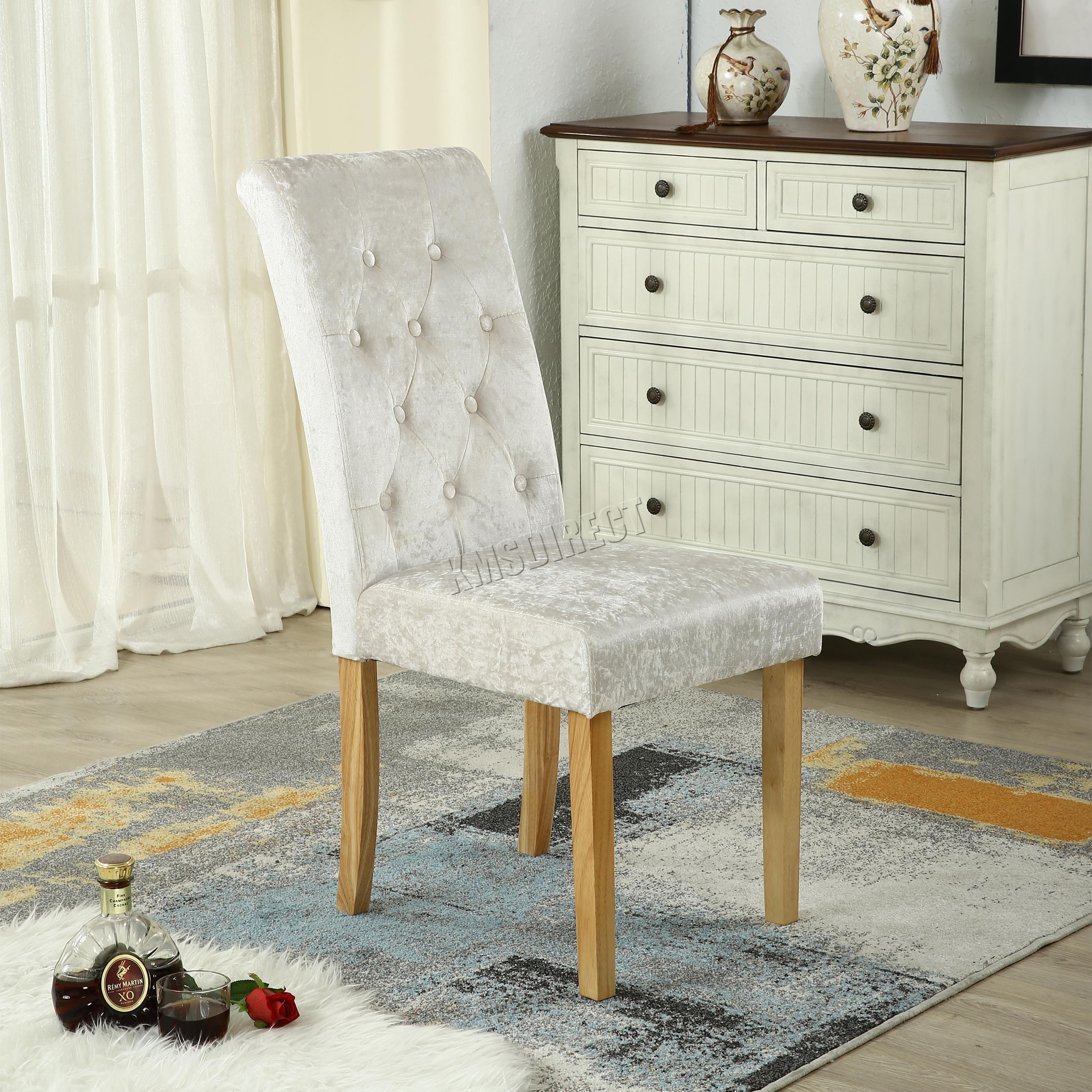 westwood zerdr cken samtstoff essstst hle bl ttern hohe r ckenlehne zimmer dcf06 ebay. Black Bedroom Furniture Sets. Home Design Ideas